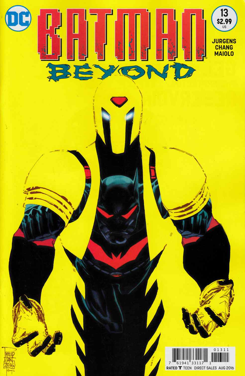 Batman Beyond #13 [DC Comic] THUMBNAIL