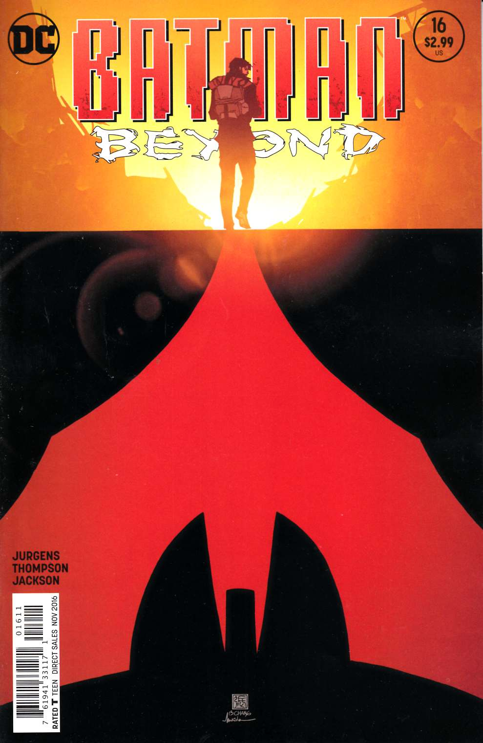 Batman Beyond #16 [DC Comic] THUMBNAIL