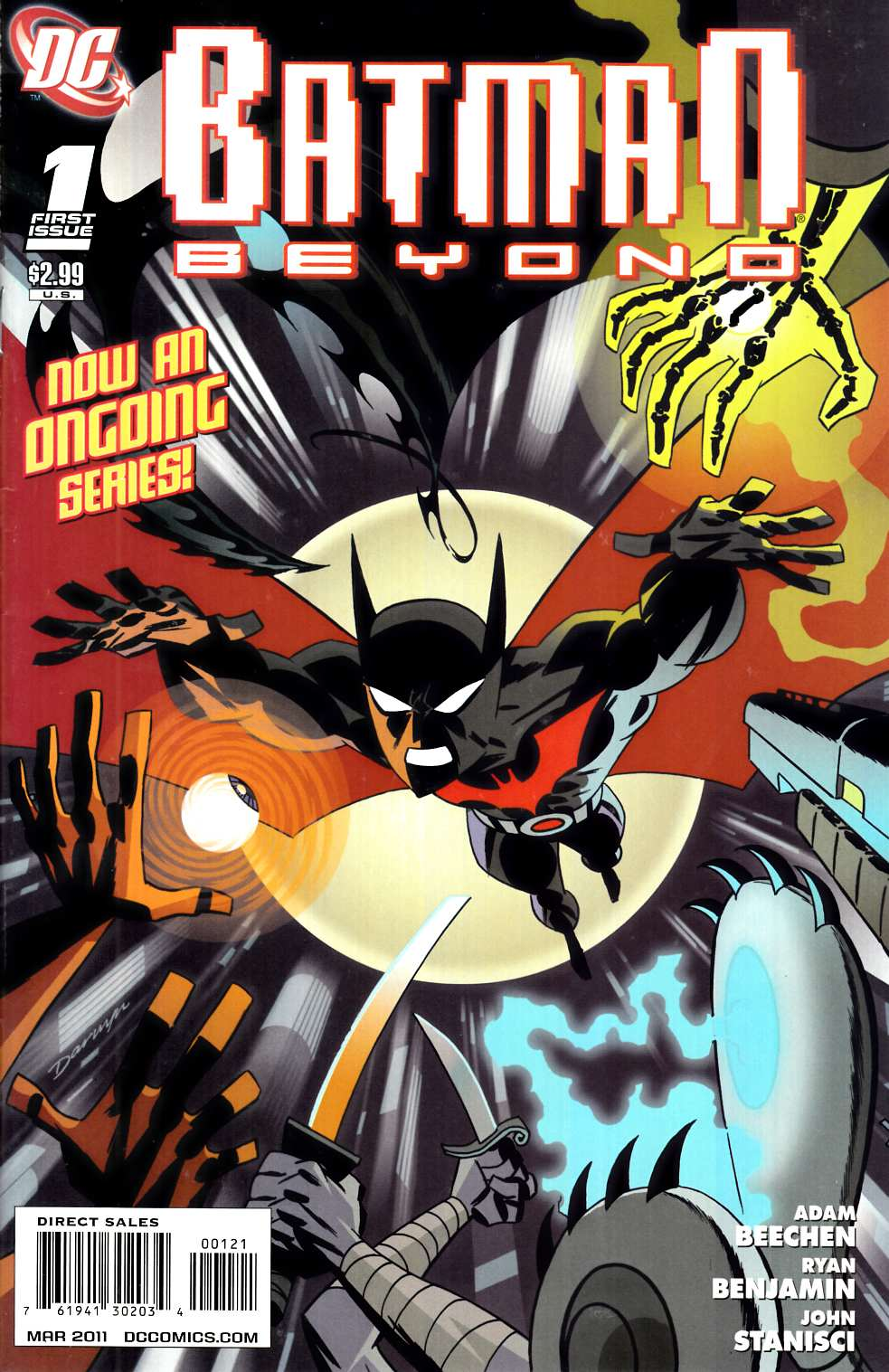 Batman Beyond #1 Cooke Variant Cover [Comic]_THUMBNAIL