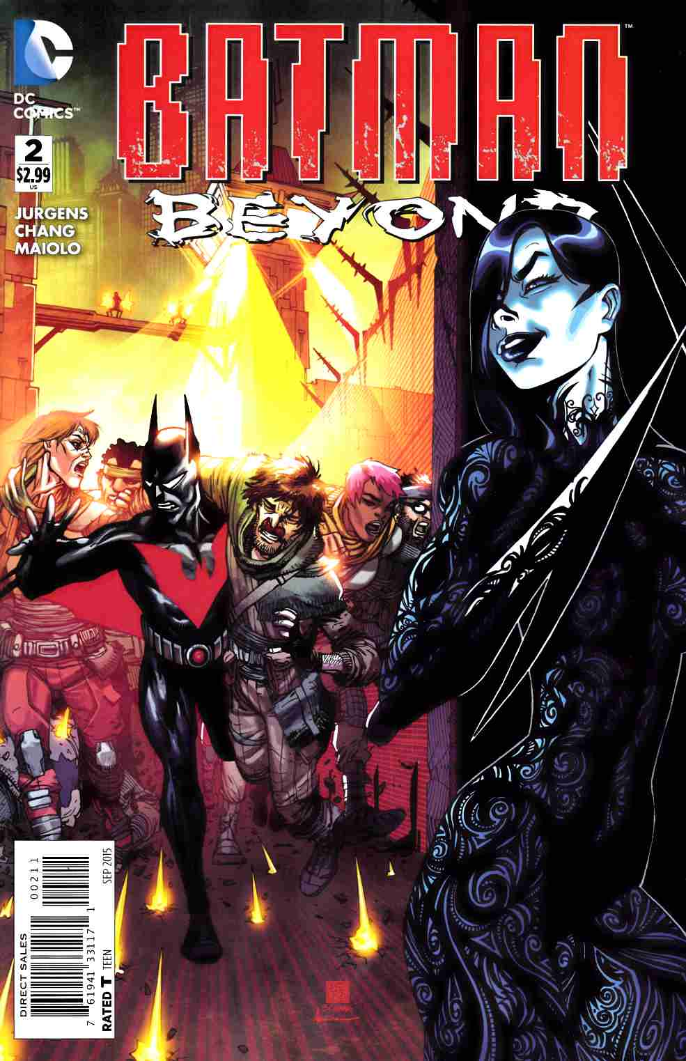 Batman Beyond #2 [DC Comic] THUMBNAIL