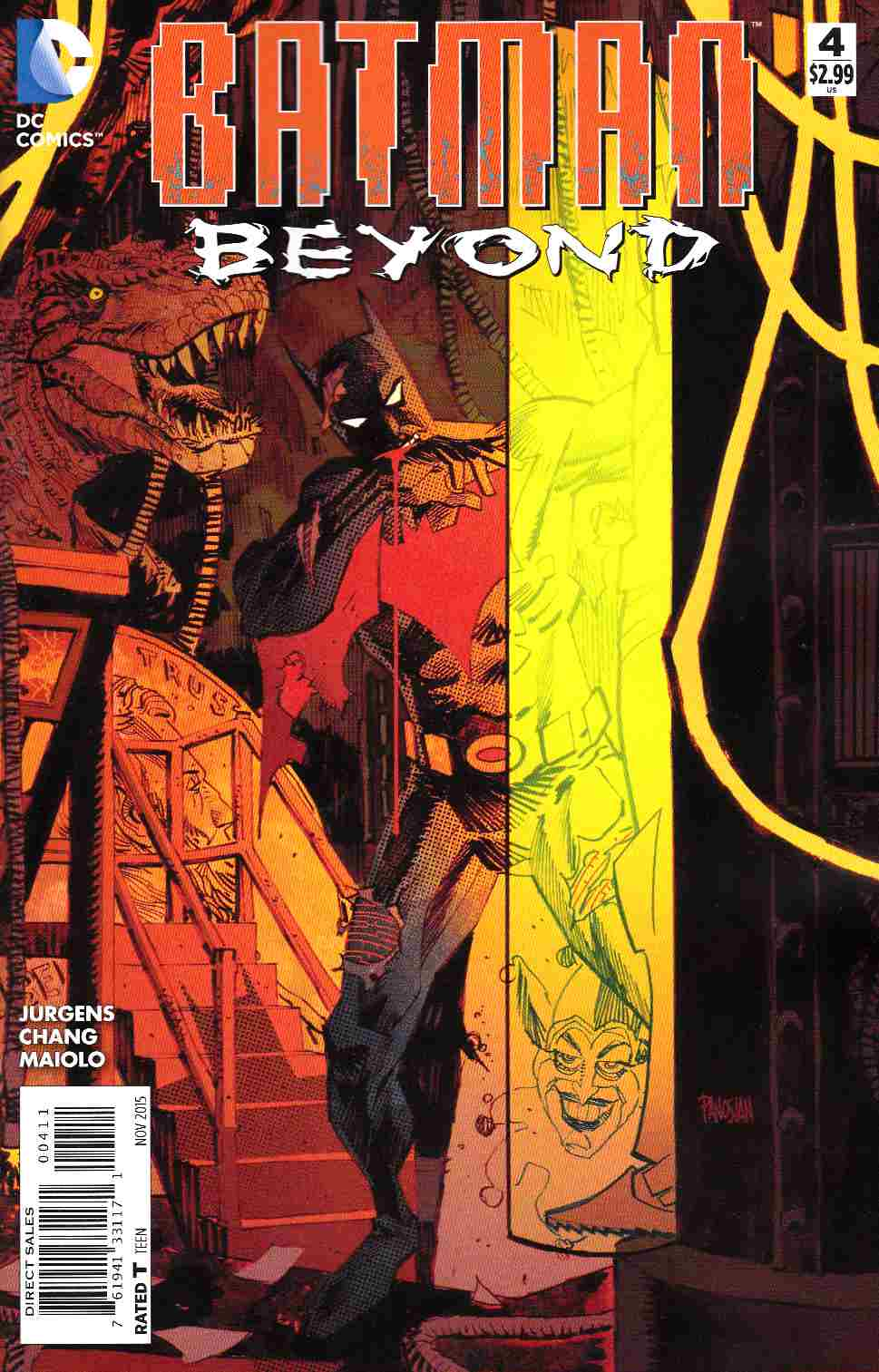 Batman Beyond #4 [DC Comic] THUMBNAIL