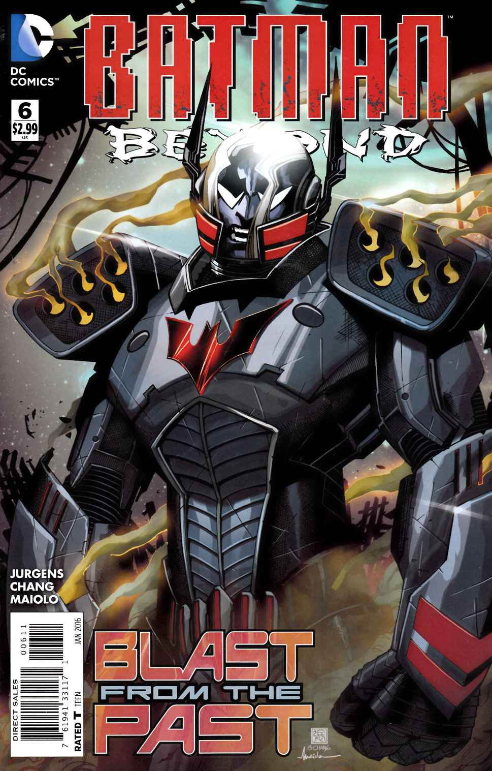 Batman Beyond #6 [DC Comic] THUMBNAIL