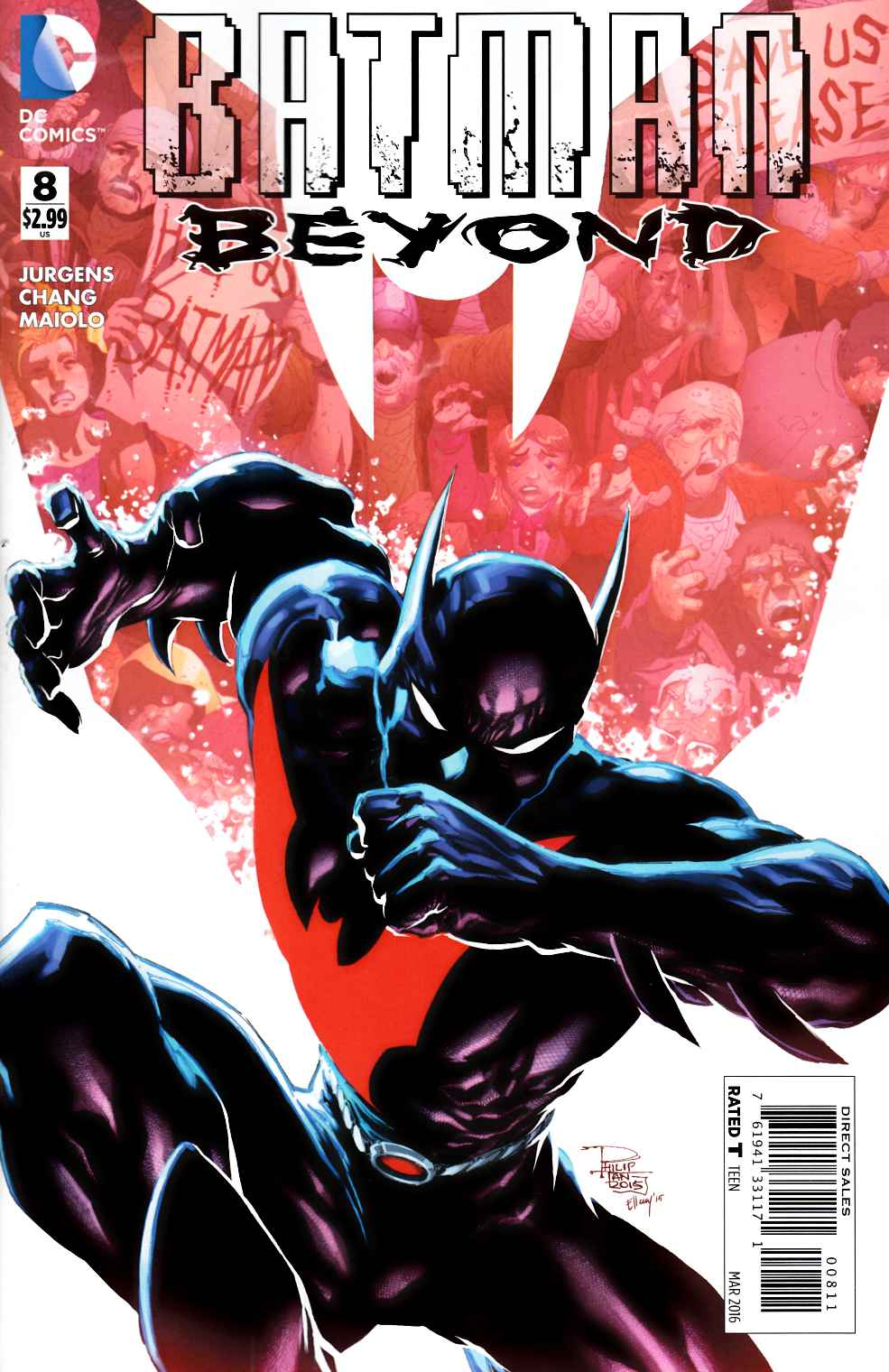 Batman Beyond #8 [DC Comic] THUMBNAIL