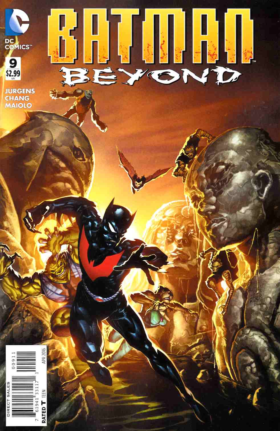 Batman Beyond #9 [DC Comic] THUMBNAIL