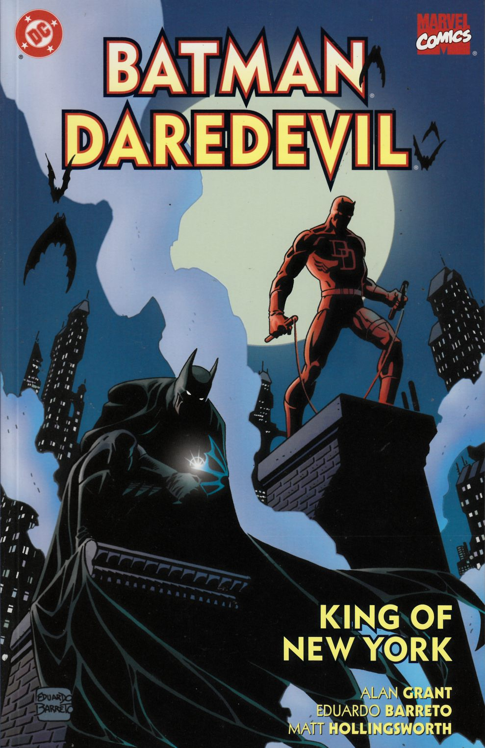 Batman Daredevil King of New York (One Shot) Near Mint (9.4) [DC Comic] THUMBNAIL