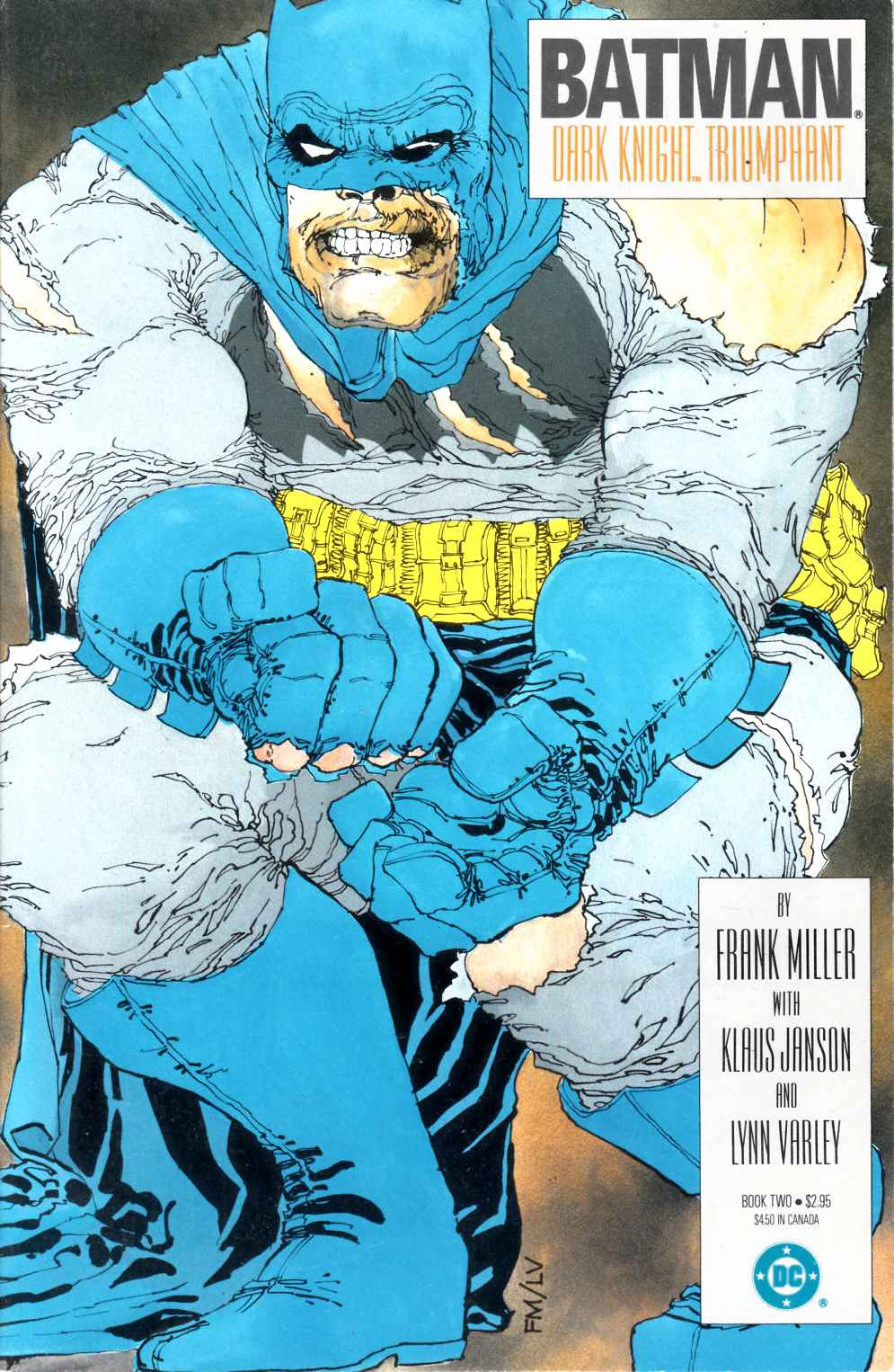 Batman the Dark Knight Returns #2 Second Printing Very Fine (8.0) [DC Comic]_THUMBNAIL