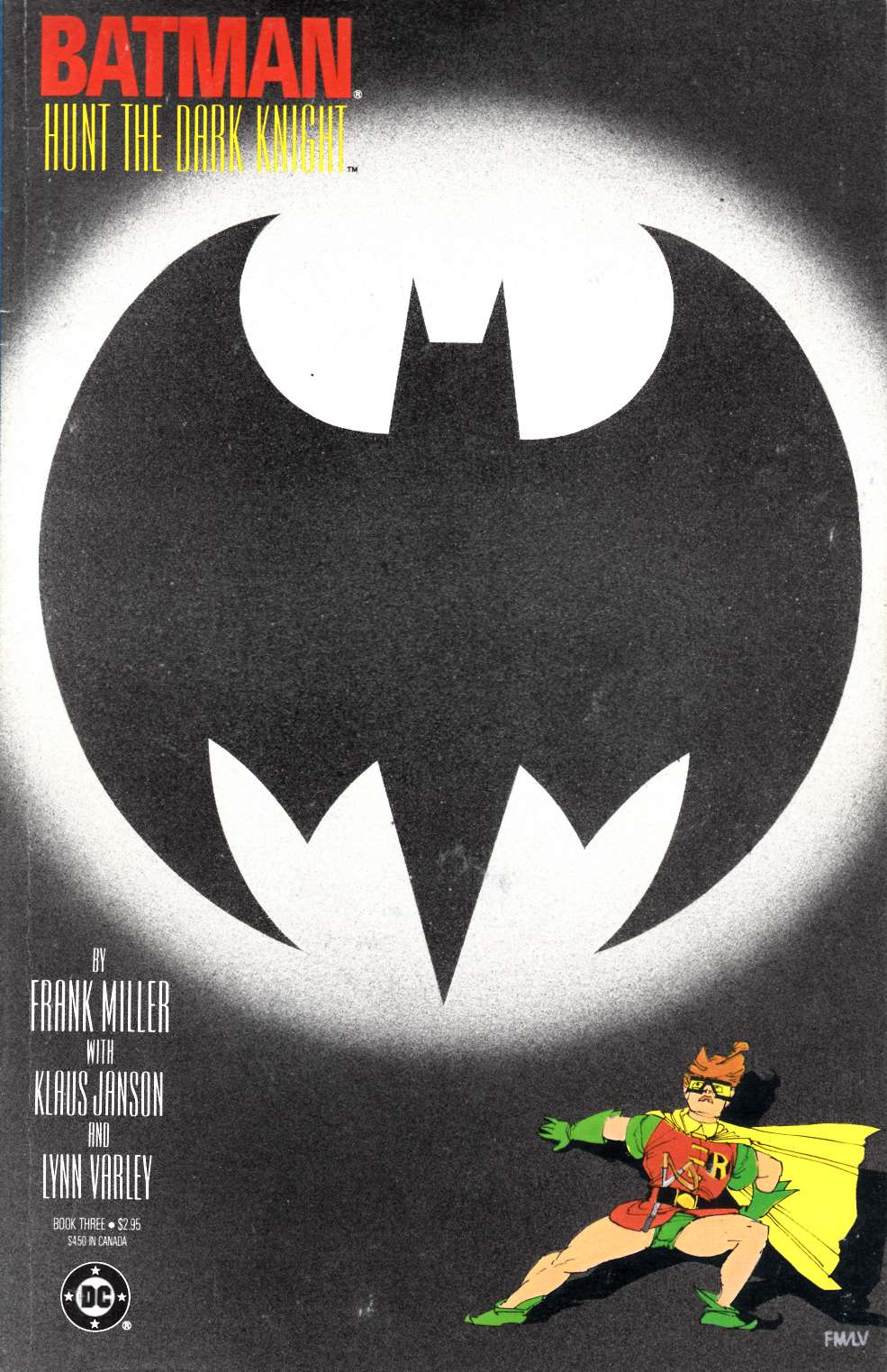 Batman the Dark Knight Returns #3 Good/Very Good (3.0) [DC Comic]_THUMBNAIL