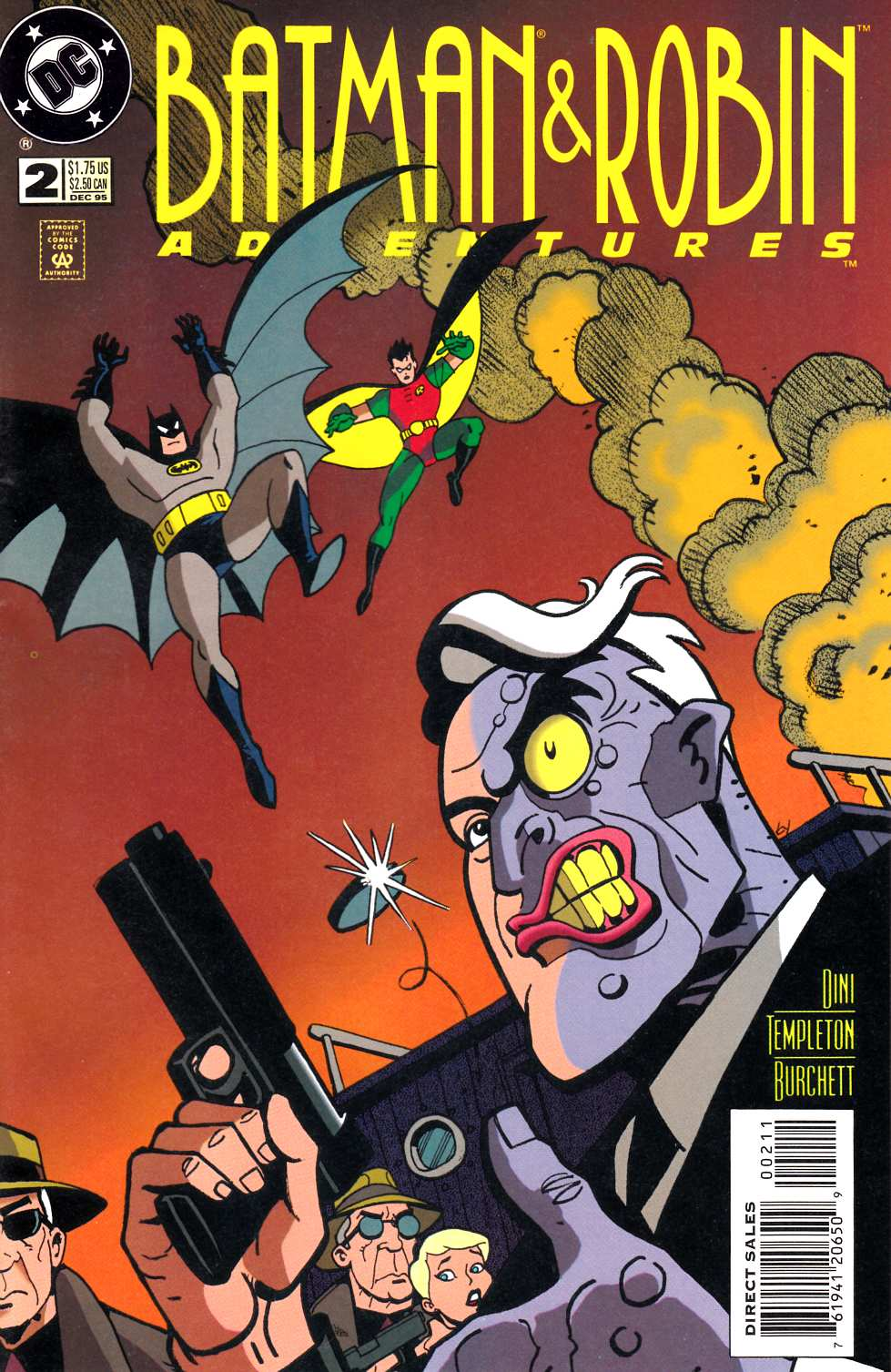 Batman and Robin Adventures #2 [DC Comic]_THUMBNAIL