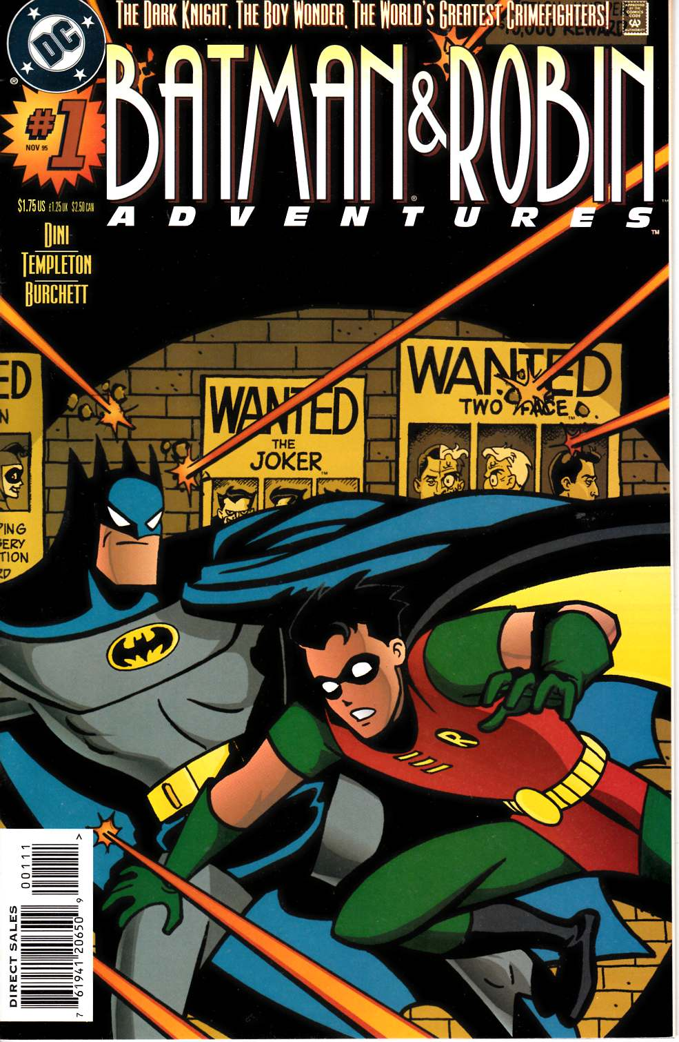 Batman and Robin Adventures #1 [DC Comic]_THUMBNAIL