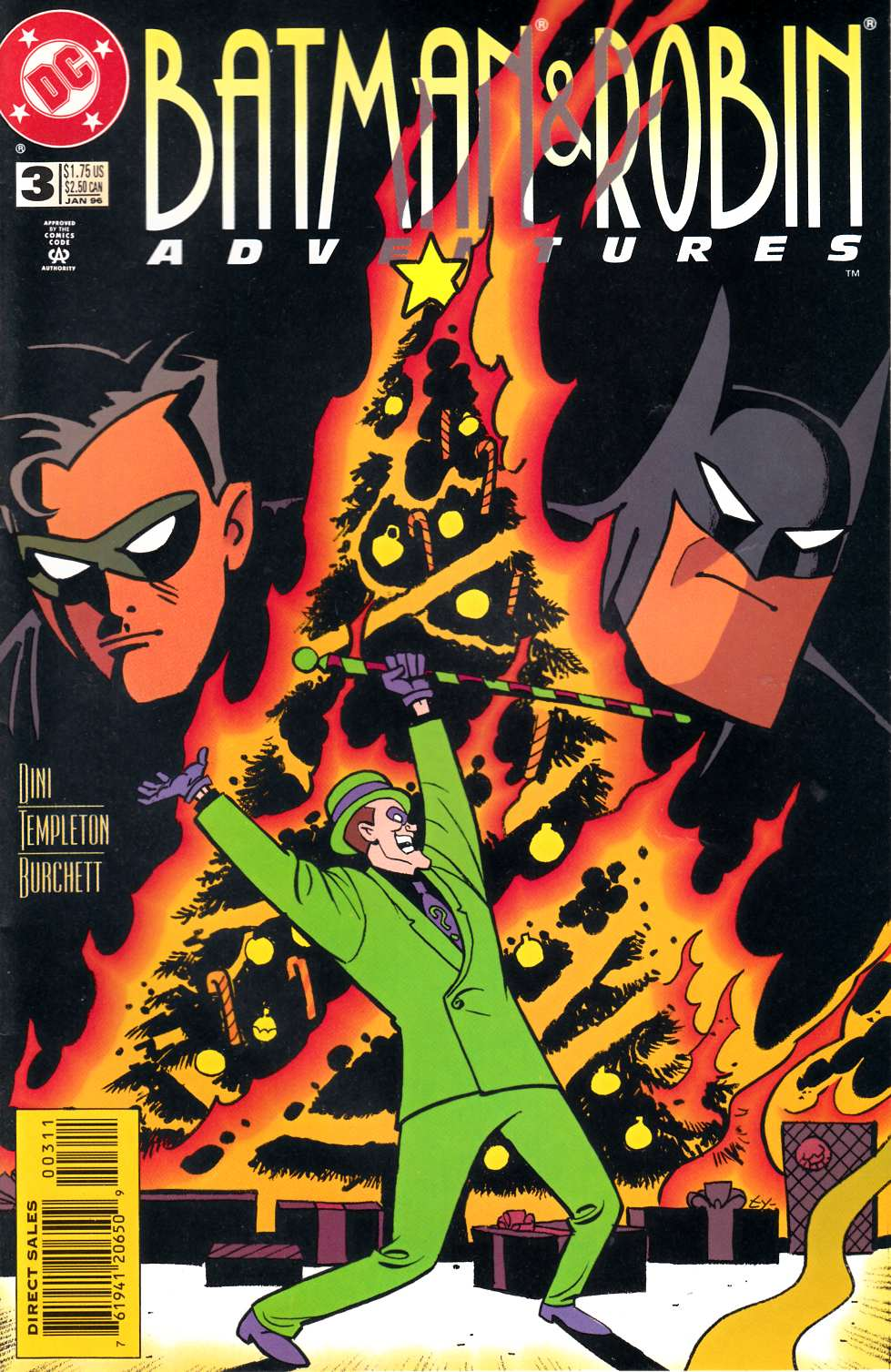 Batman and Robin Adventures #3 [DC Comic] LARGE