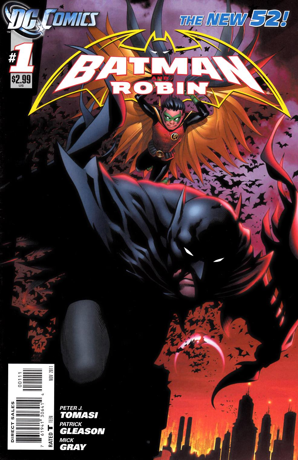 Batman And Robin #1 [DC Comic]_THUMBNAIL