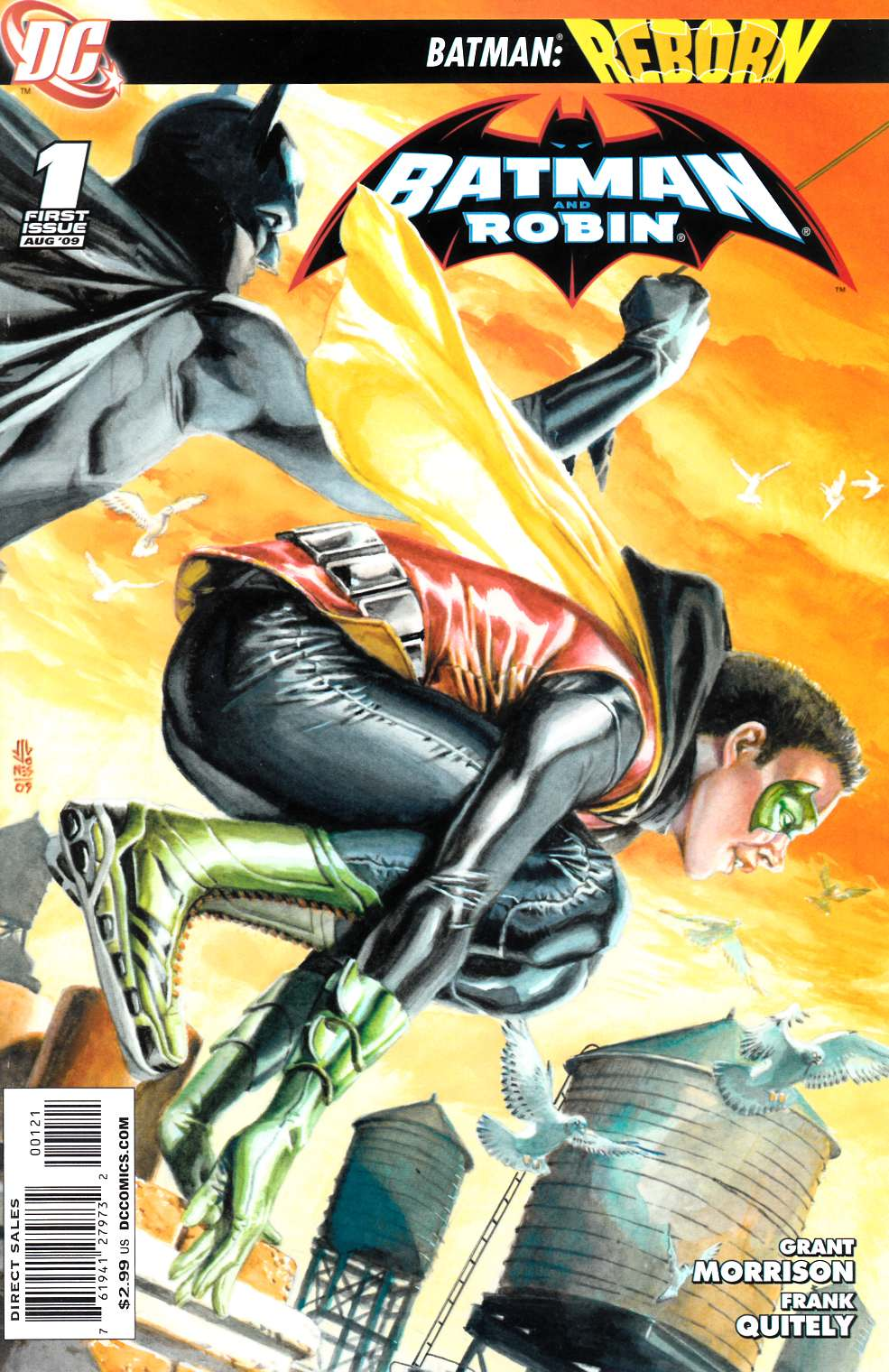 Batman and Robin #1 JG Jones Variant Cover [DC Comic] THUMBNAIL