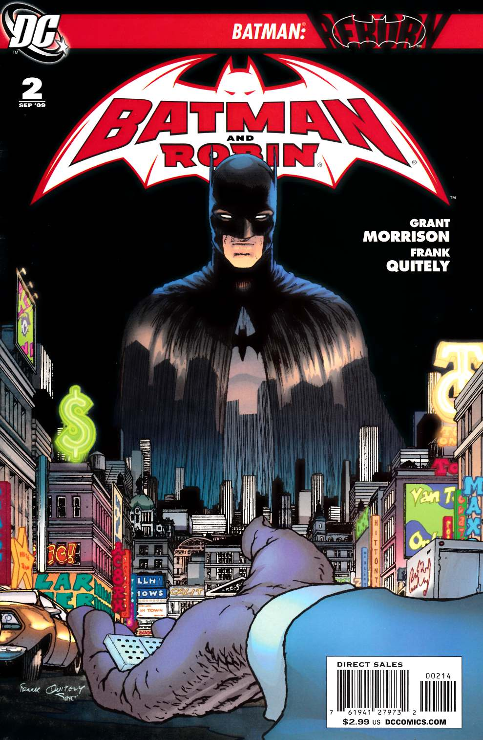 Batman and Robin #2 Fourth Printing [DC Comic]_THUMBNAIL