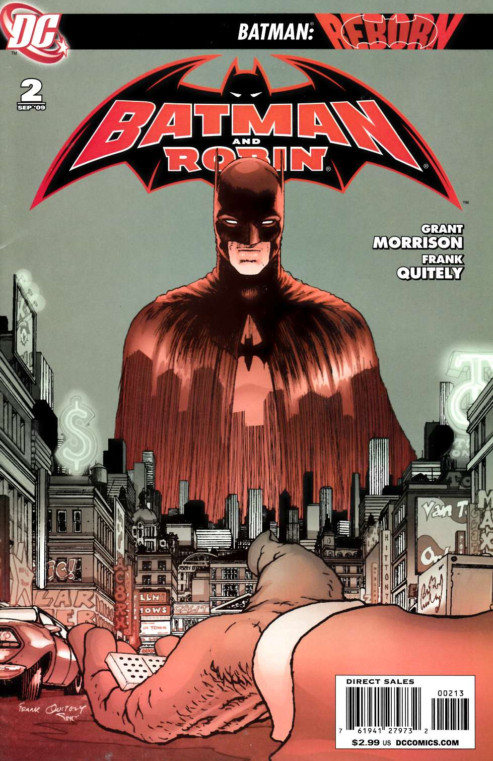 Batman and Robin #2 Third Printing [DC Comic]_THUMBNAIL