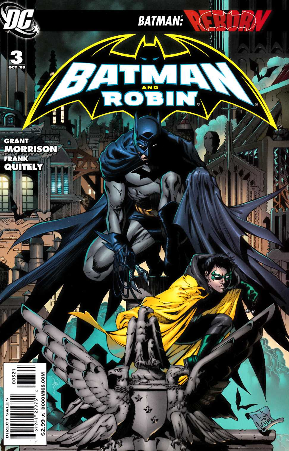 Batman and Robin #3 Daniel Variant Cover [DC Comic]_THUMBNAIL