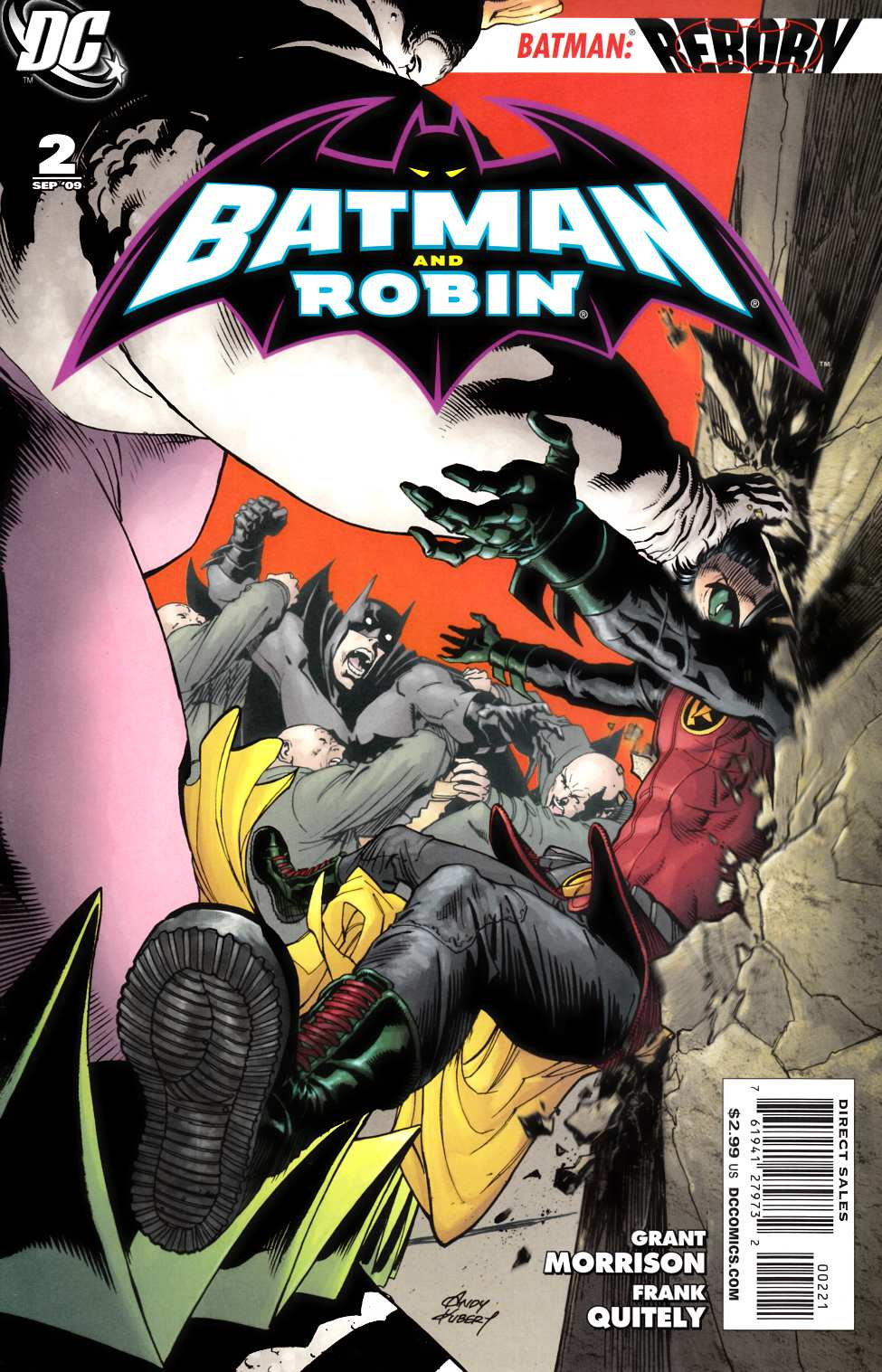 Batman and Robin #2 Kubert Variant Cover [DC Comic]_THUMBNAIL