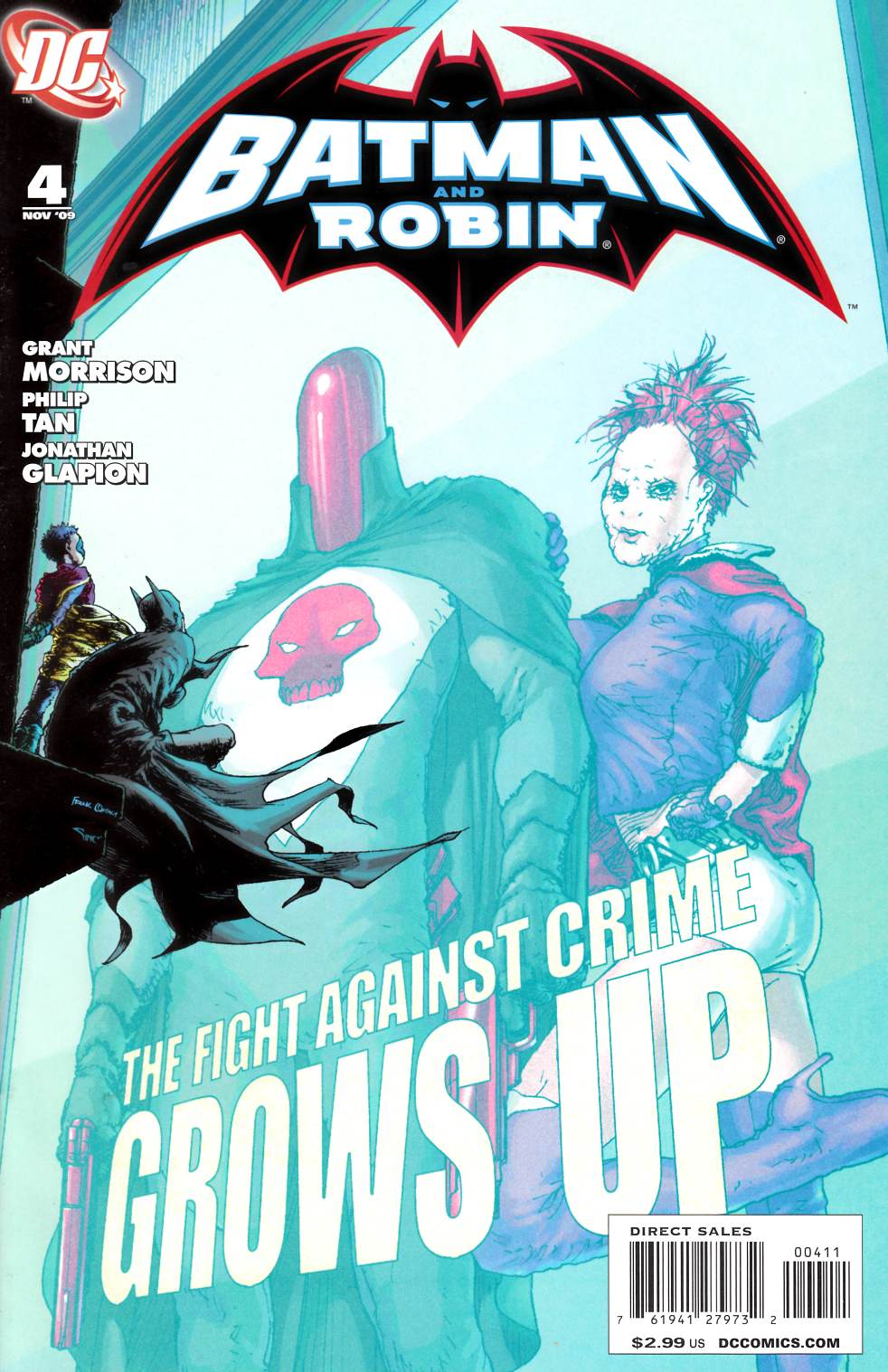 Batman and Robin #4 [DC Comic]_THUMBNAIL
