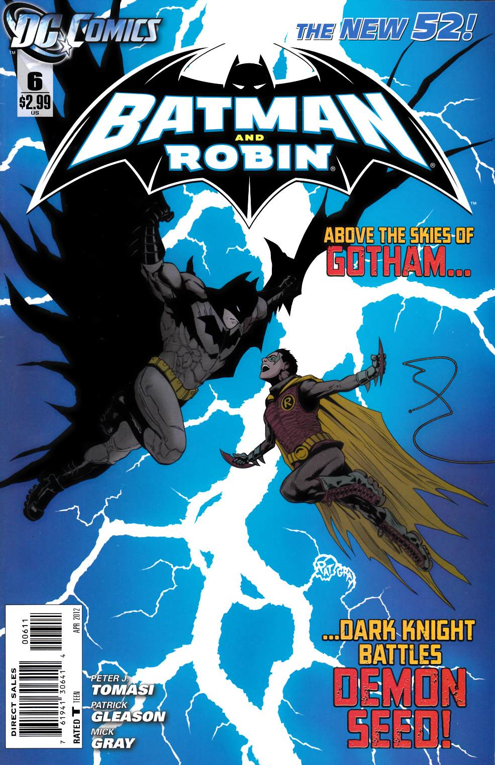Batman and Robin #6 [DC Comic]_LARGE
