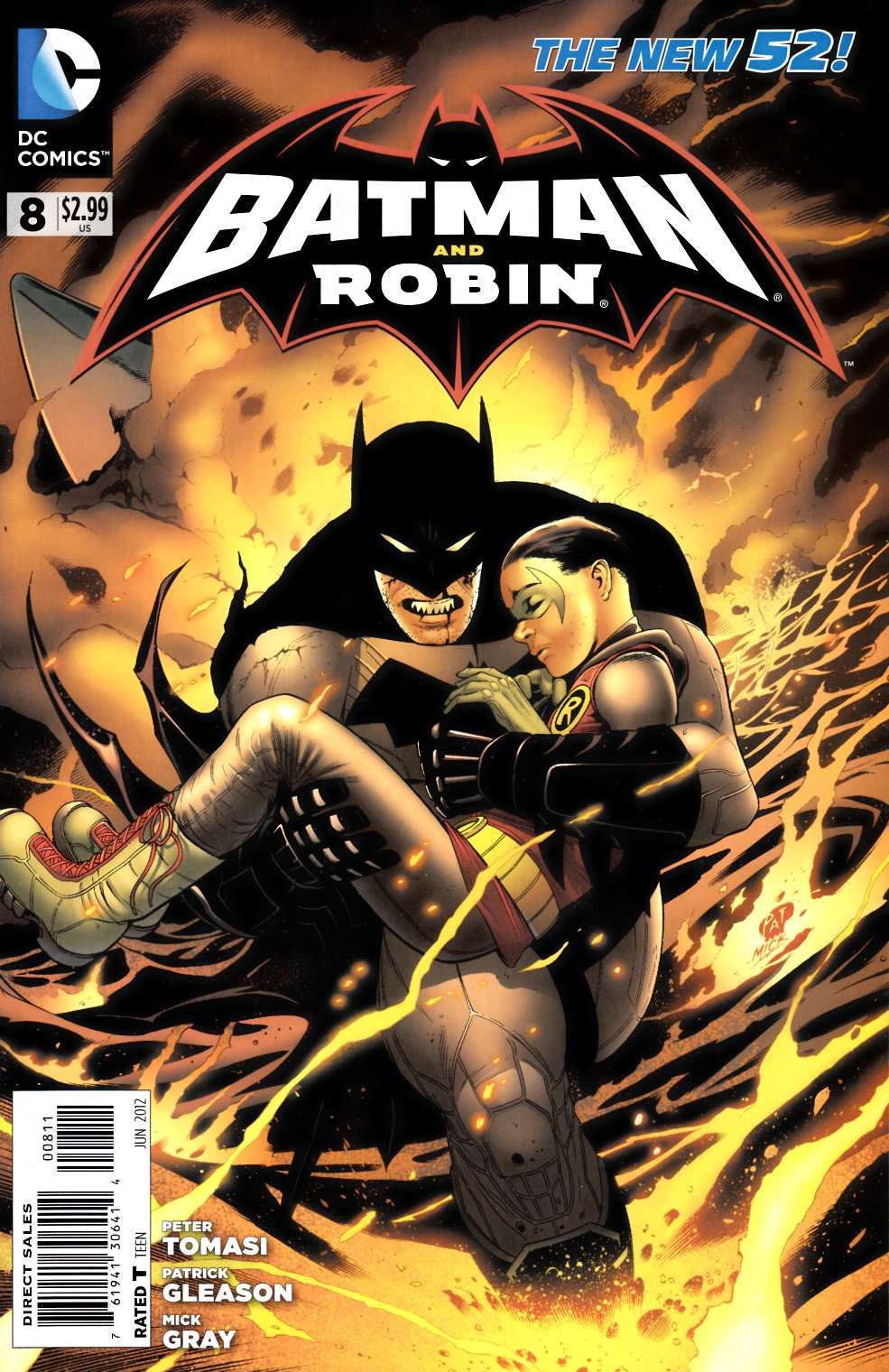 Batman and Robin #8 [DC Comic]_THUMBNAIL
