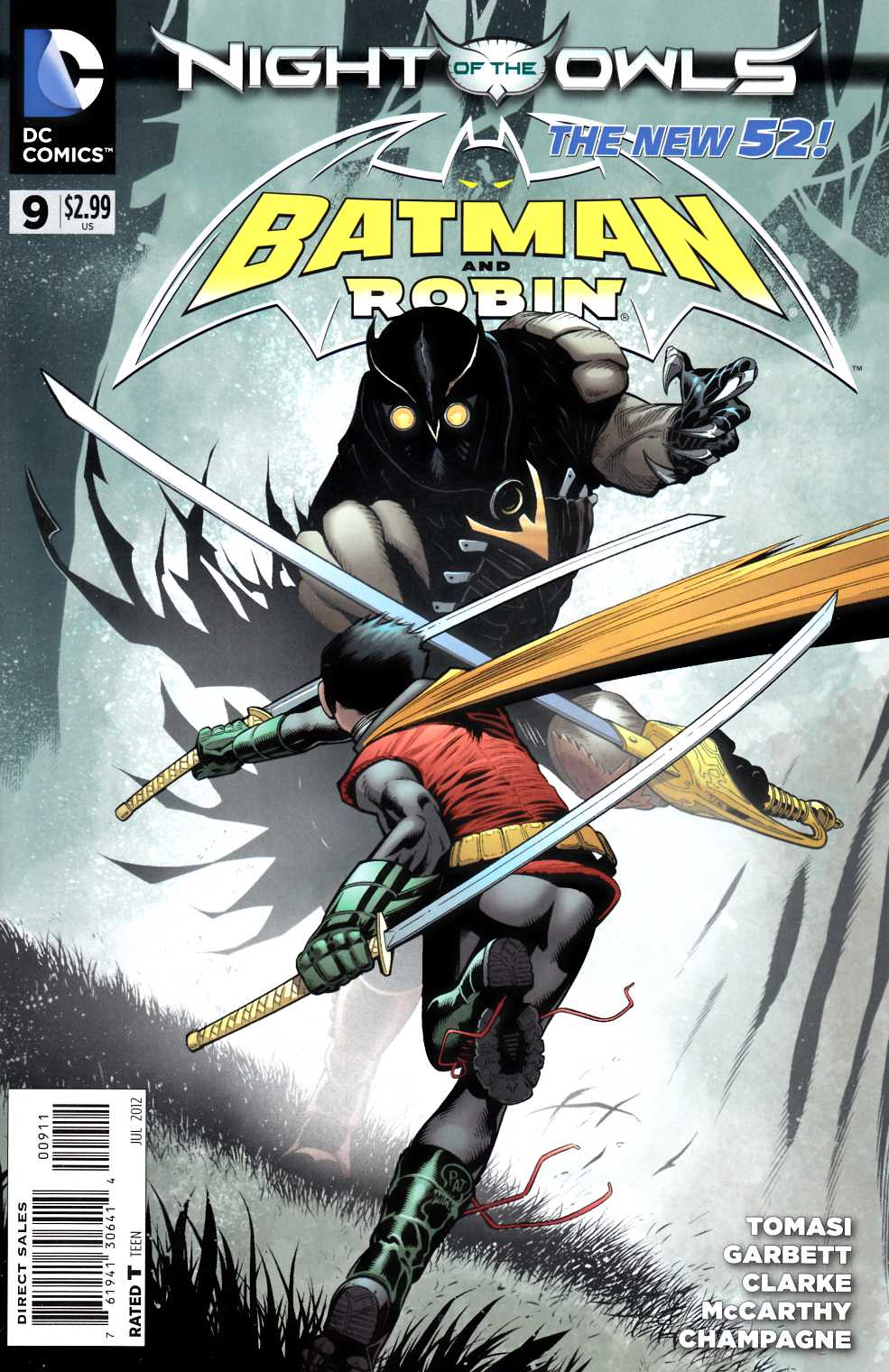 Batman and Robin #9 [DC Comic]_THUMBNAIL