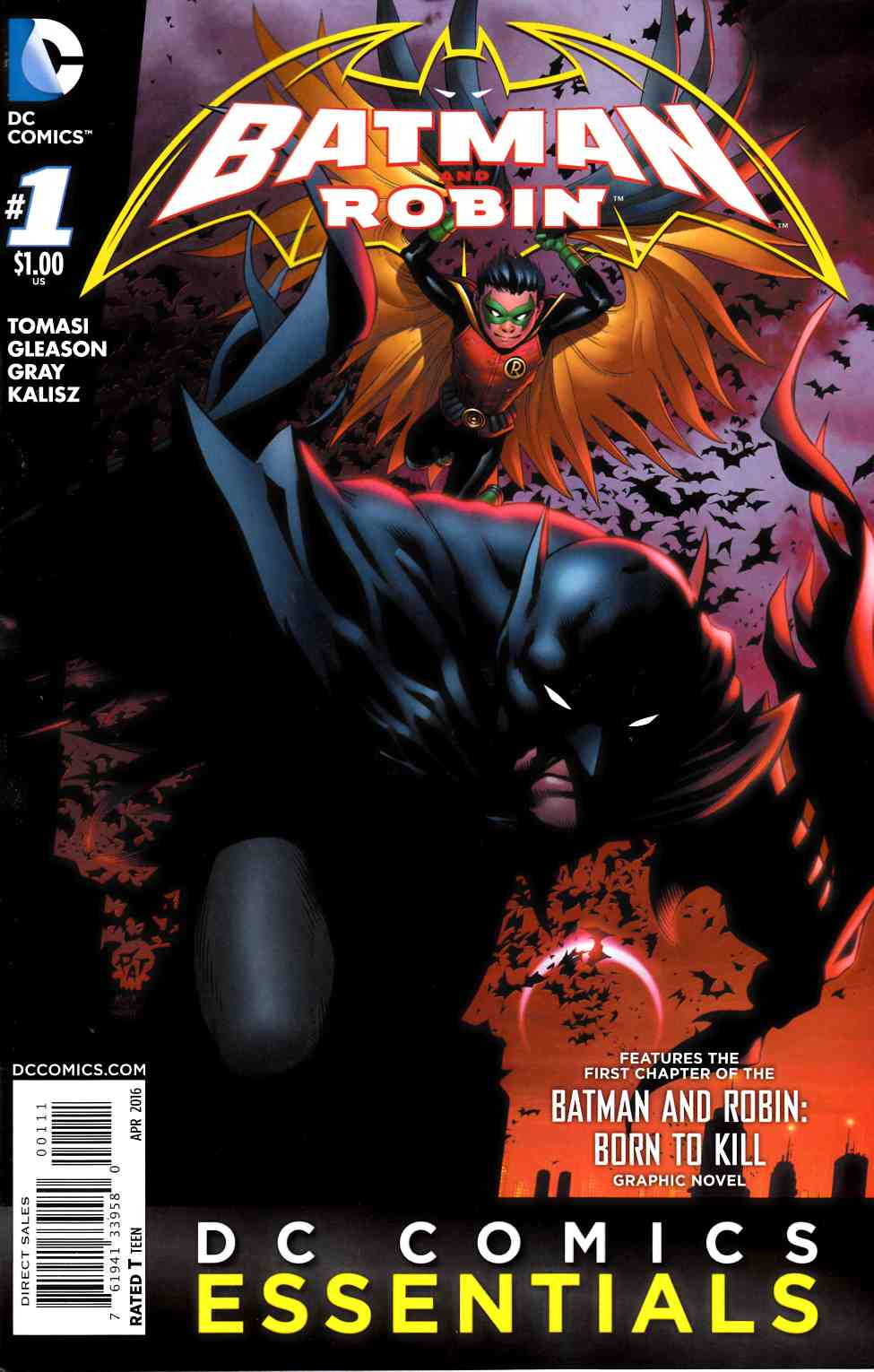 Batman and Robin #1 DC Essentials Edition [DC Comic] LARGE
