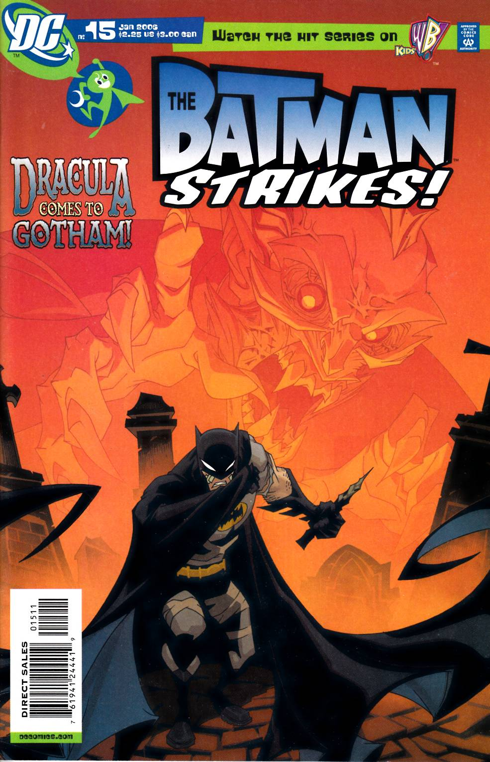 Batman Strikes #15 Very Fine (8.0) [DC Comic]_LARGE