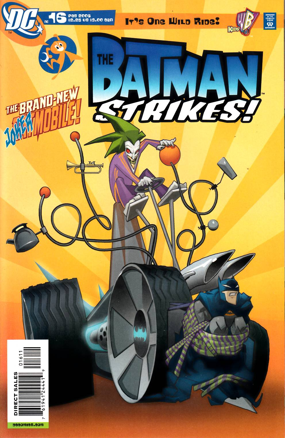 Batman Strikes #16 Near Mint (9.4) [DC Comic]