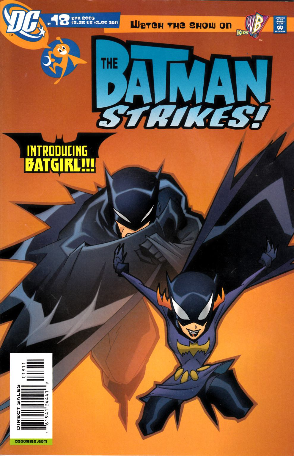 Batman Strikes #18 Very Fine (8.0) [DC Comic] LARGE