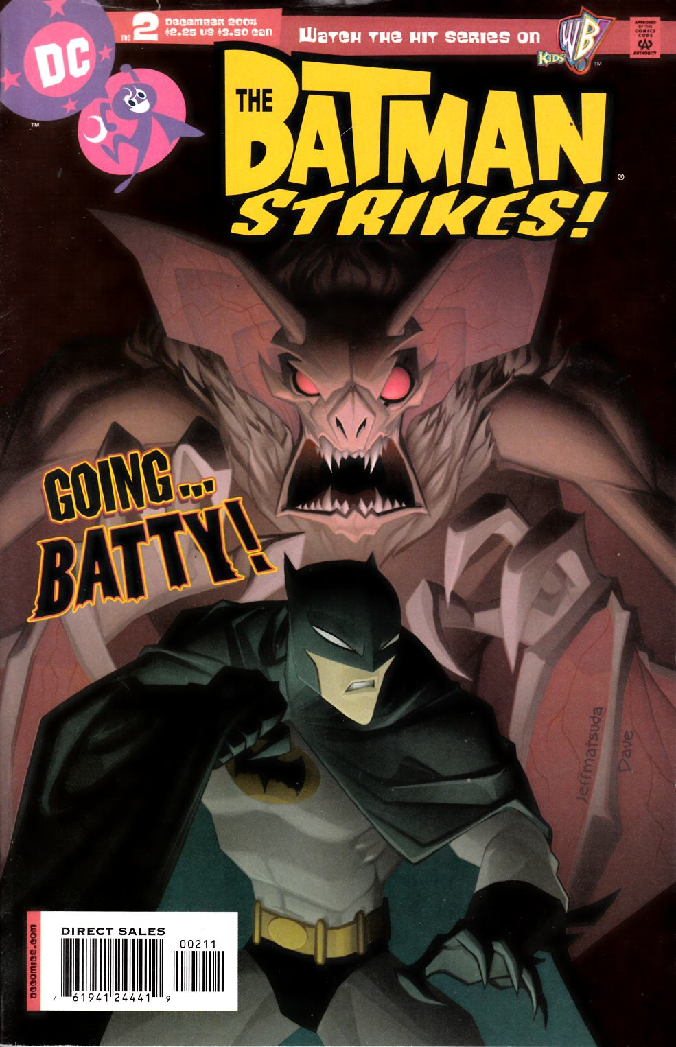 Batman Strikes #2 Fine (6.0) [DC Comic]