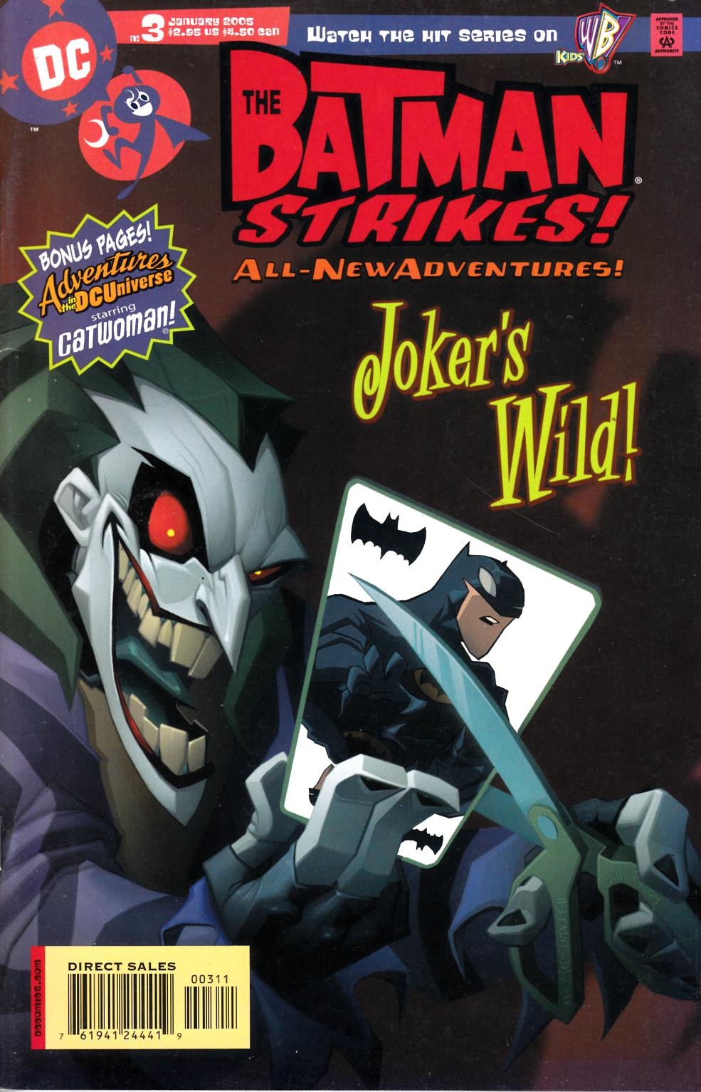 Batman Strikes #3 Very Fine (8.0) [DC Comic]
