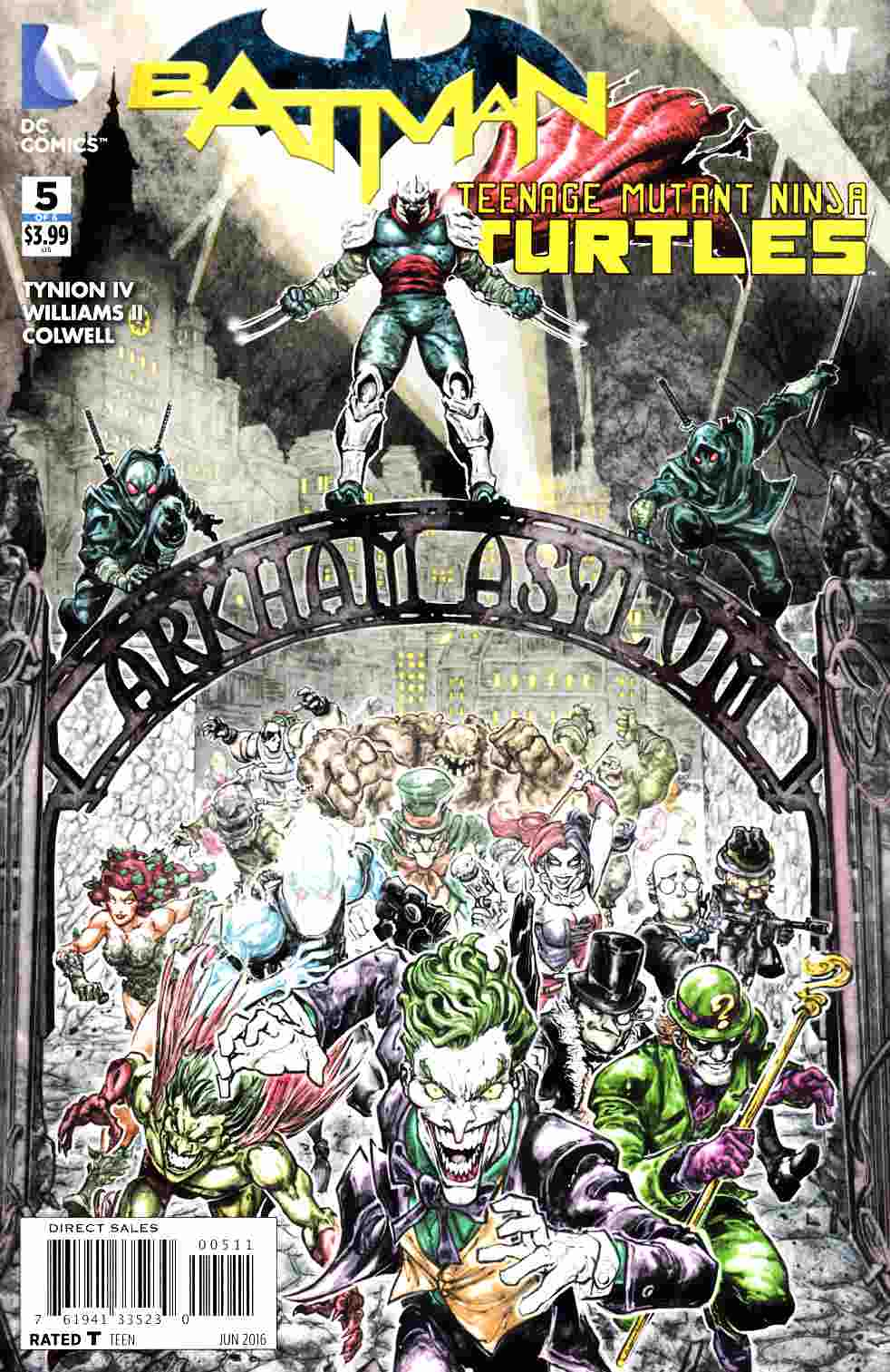 Batman Teenage Mutant Ninja Turtles #5 [DC Comic] THUMBNAIL
