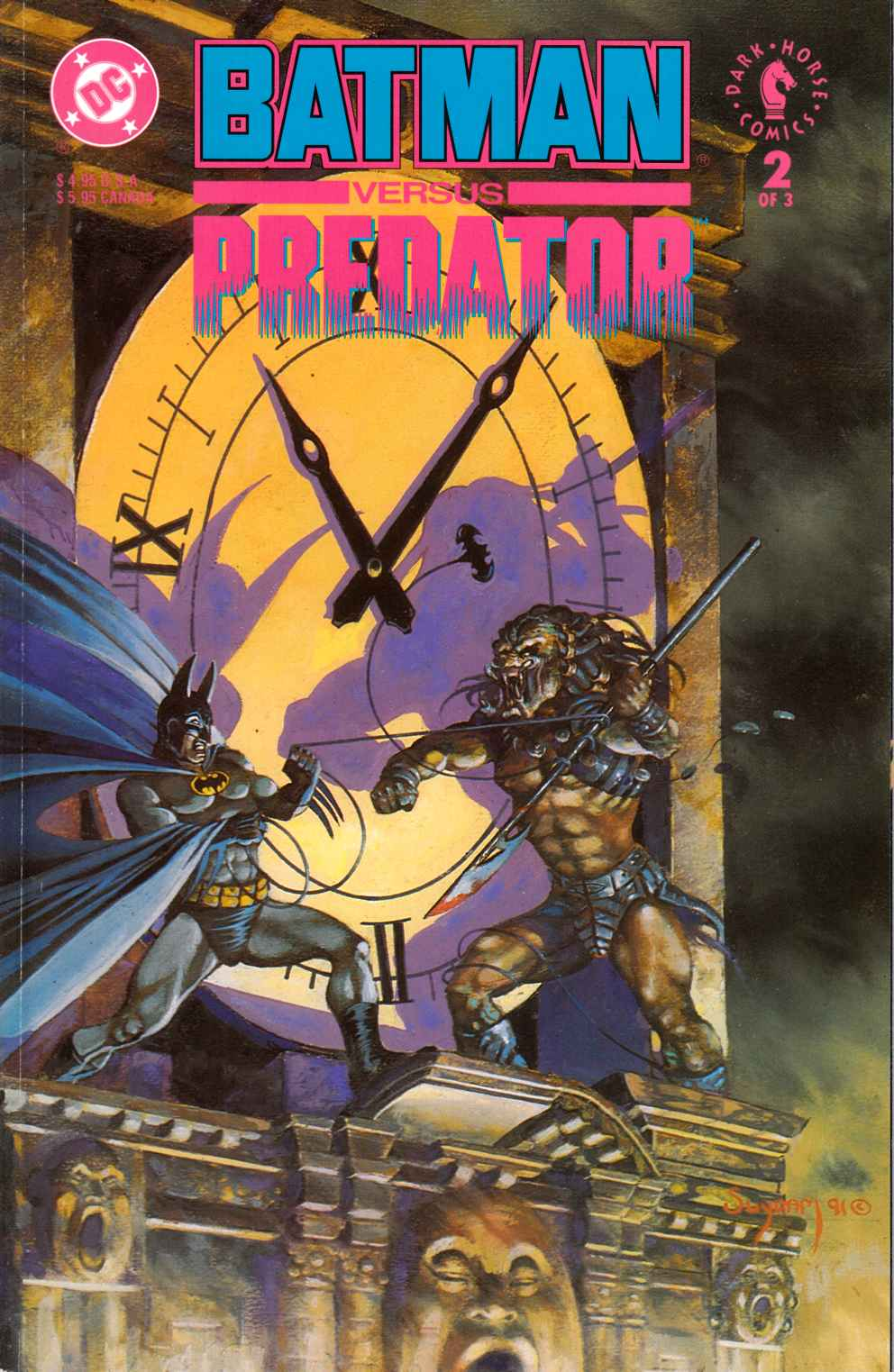 Batman vs Predator #2 Near Mint (9.4) [DC Comic]_THUMBNAIL