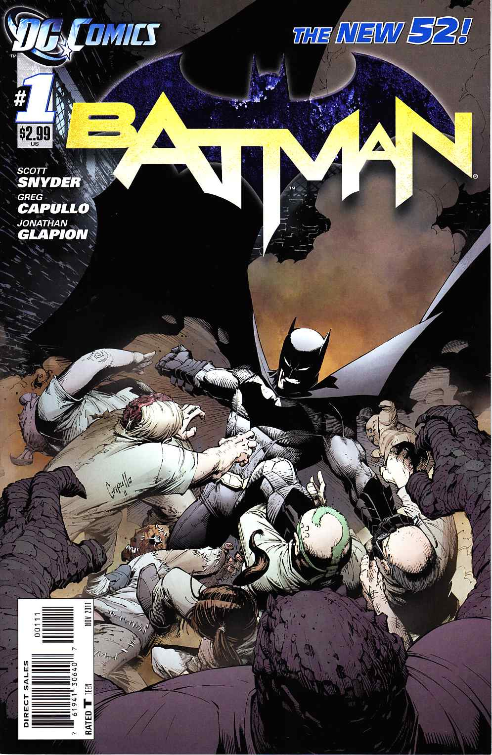 Batman #1 Near Mint (9.4) [DC Comic]_THUMBNAIL