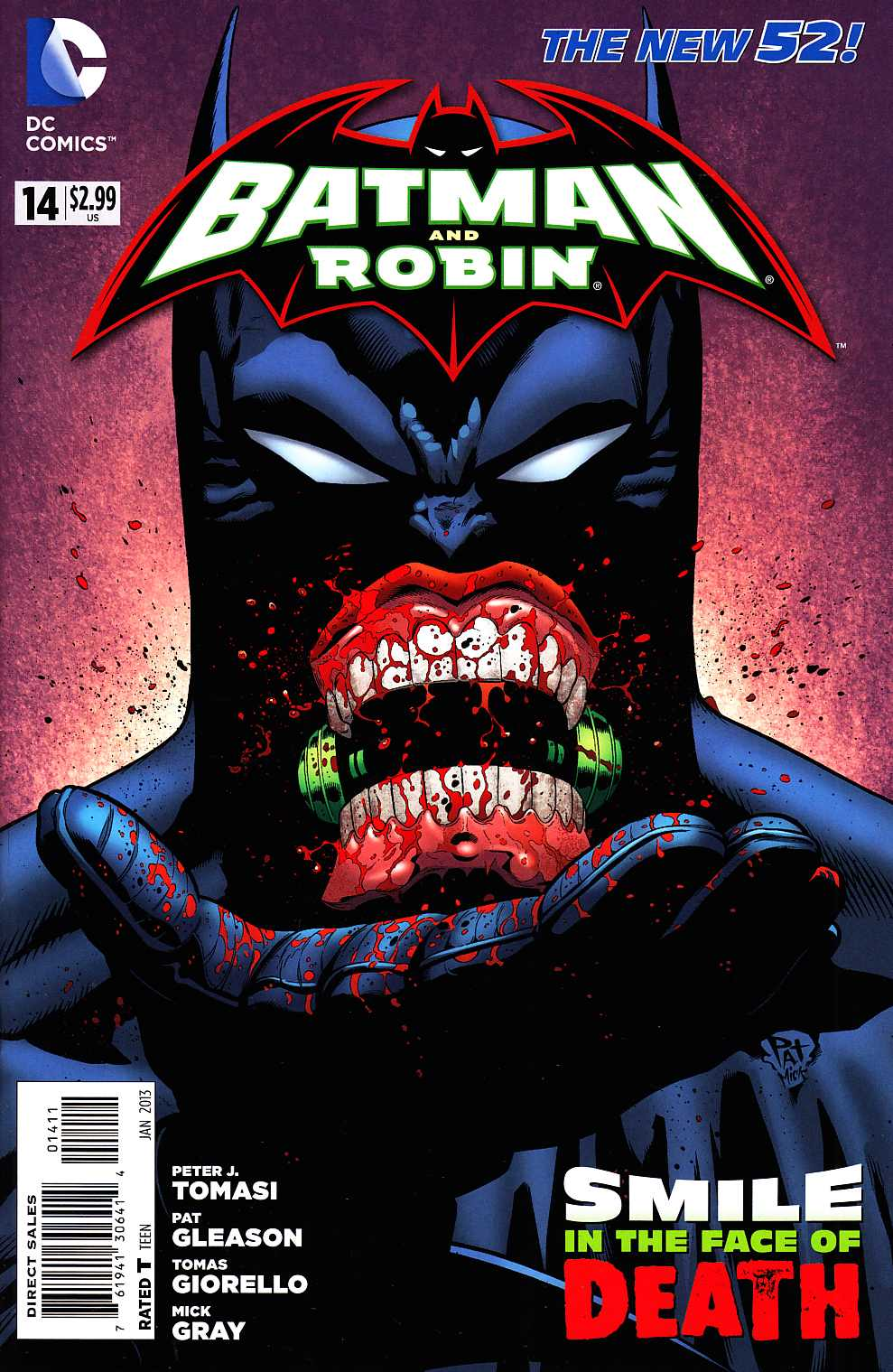 Batman and Robin #14 [DC Comic] THUMBNAIL