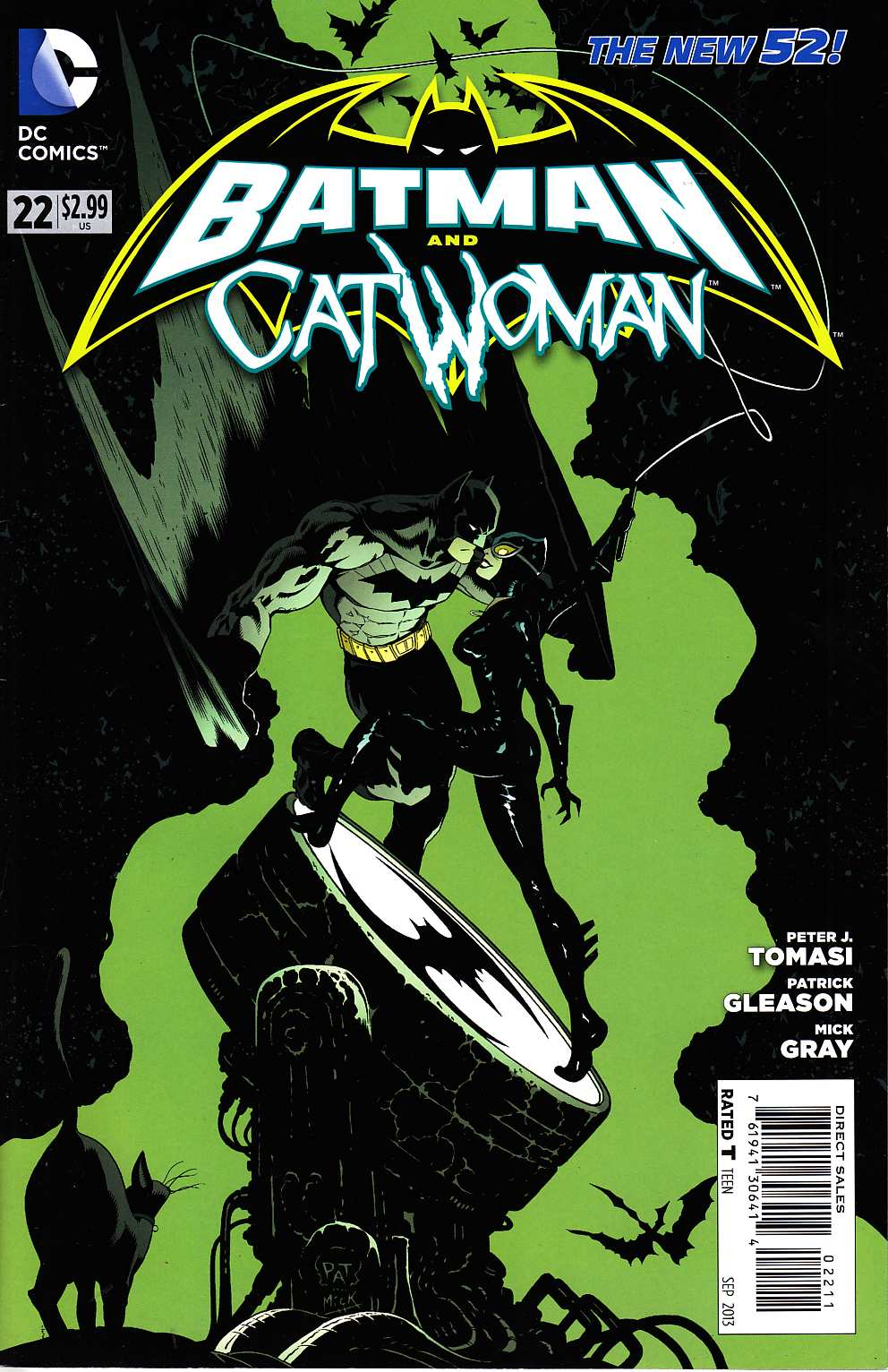 Batman and Catwoman #22 [DC Comic] THUMBNAIL