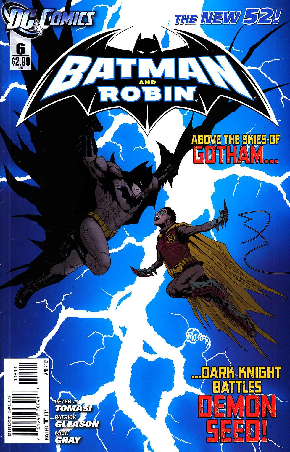 Batman and Robin #6 [DC Comic] LARGE