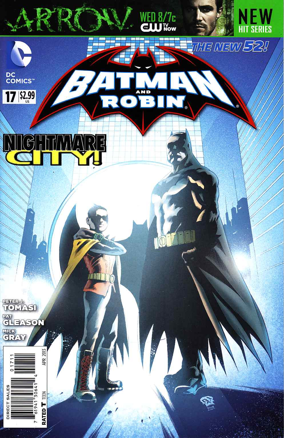 Batman and Robin #17 [DC Comic] THUMBNAIL