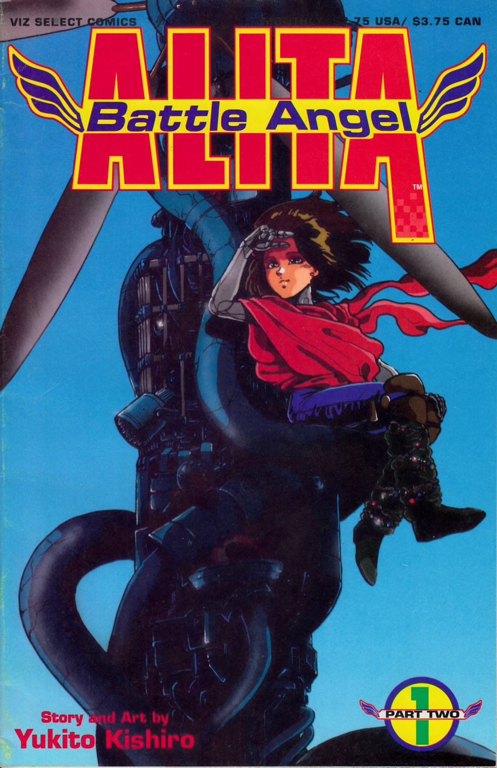 Battle Angel Alita Part 2 #1 Fine (6.0) [Viz Comic]