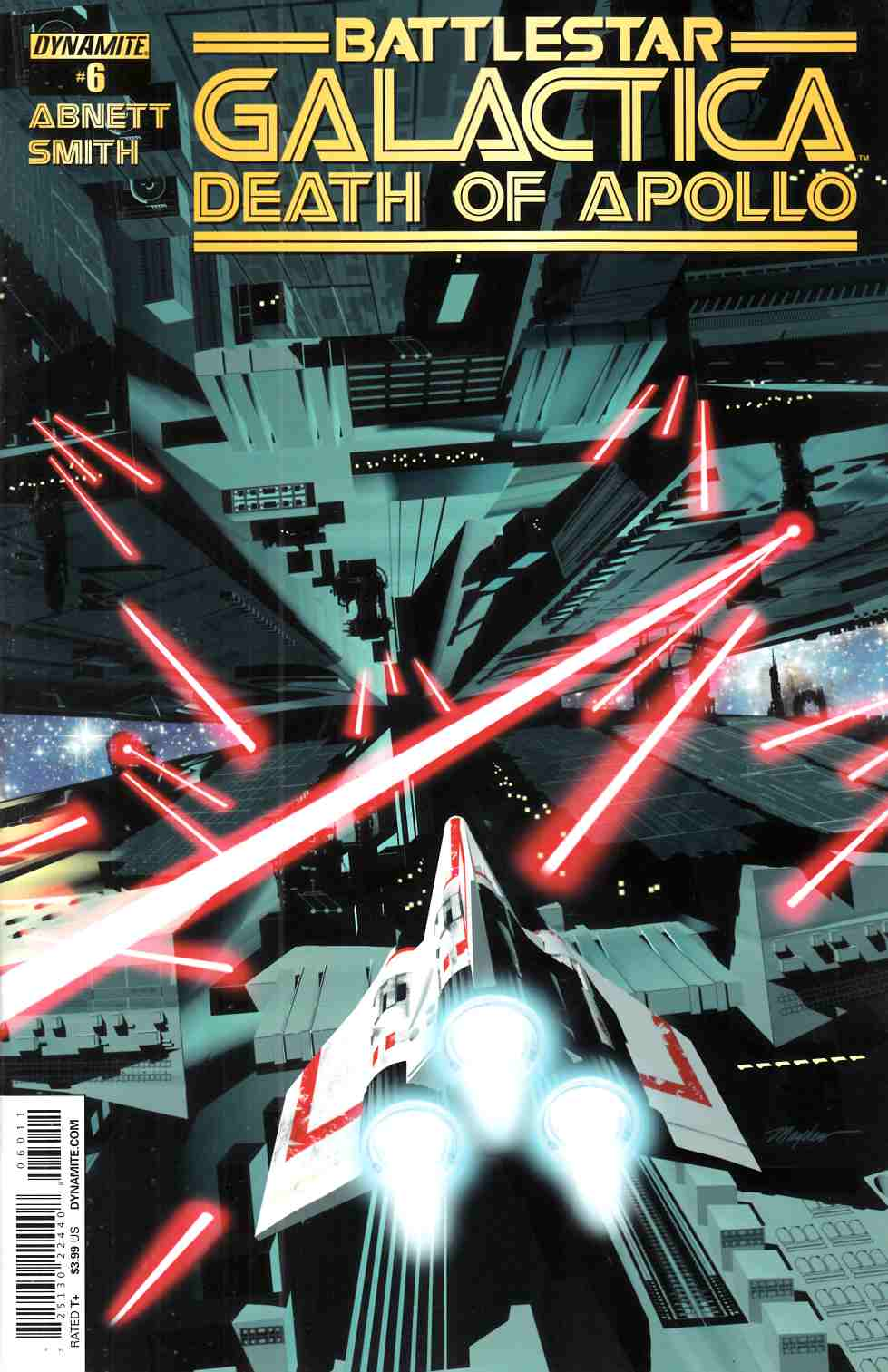 Battlestar Galactica Death Of Apollo #6 Cover A- Mayhew [Dynamite Comic] THUMBNAIL
