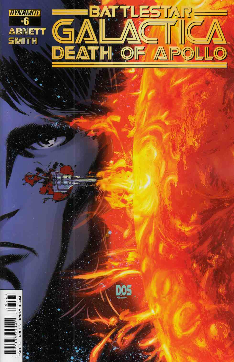 Battlestar Galactica Death Of Apollo #6 Cover B- Smith [Dynamite Comic] THUMBNAIL