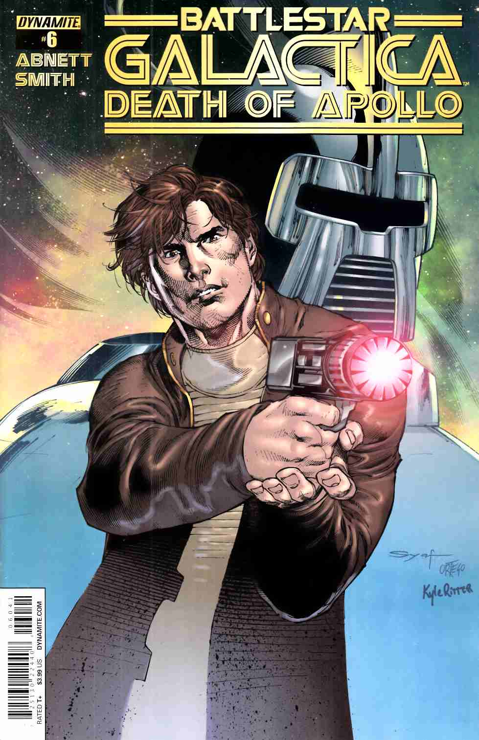 Battlestar Galactica Death Of Apollo #6 Cover D- Syaf [Dynamite Comic] THUMBNAIL