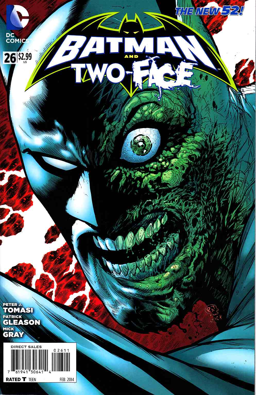 Batman and Two Face #26 [DC Comic] LARGE