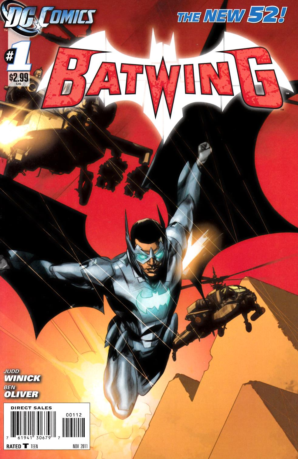 Batwing #1 Second Printing [DC Comic]_LARGE
