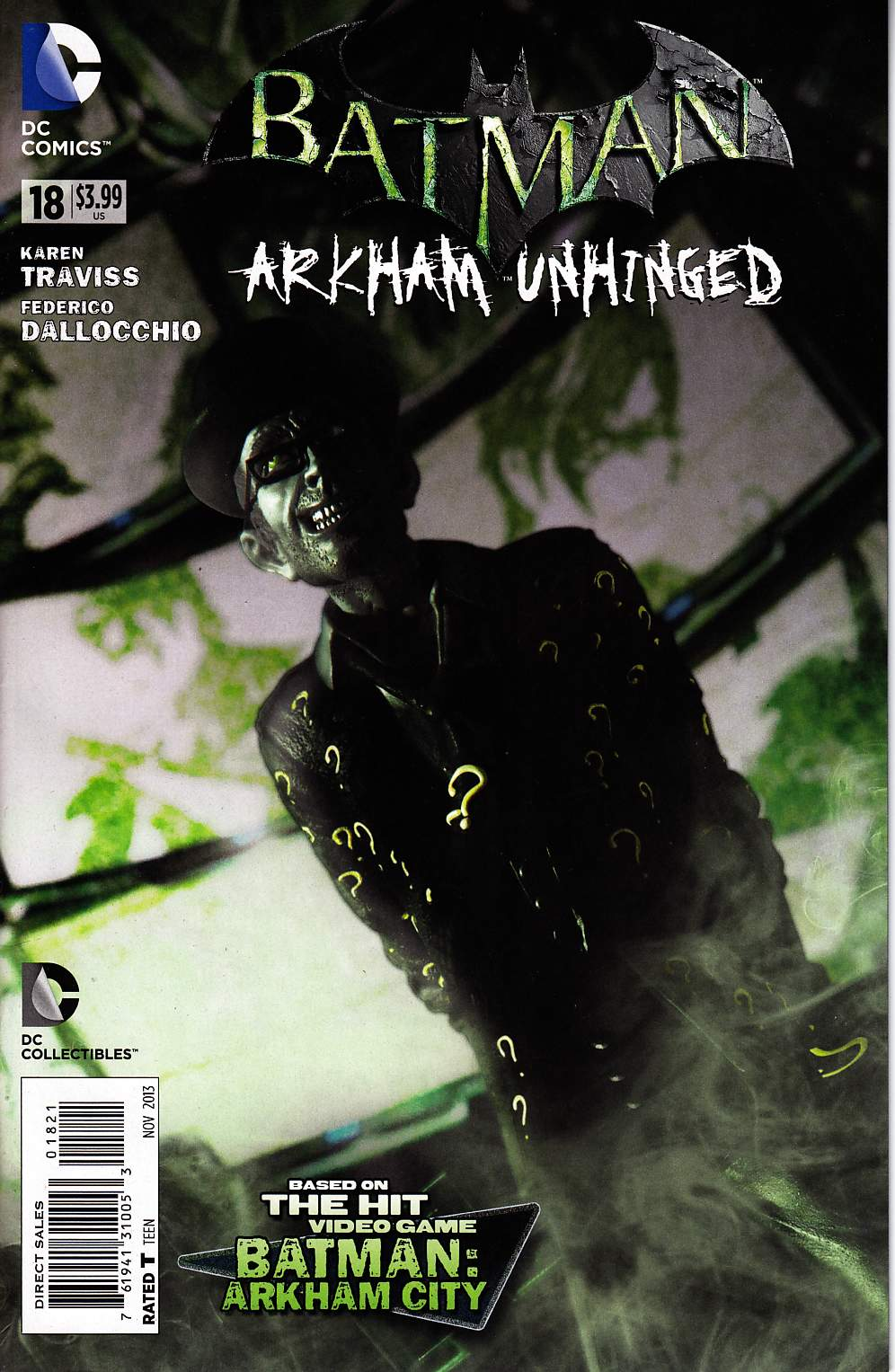Batman Arkham Unhinged #18 Photo Variant Cover [DC Comic] LARGE