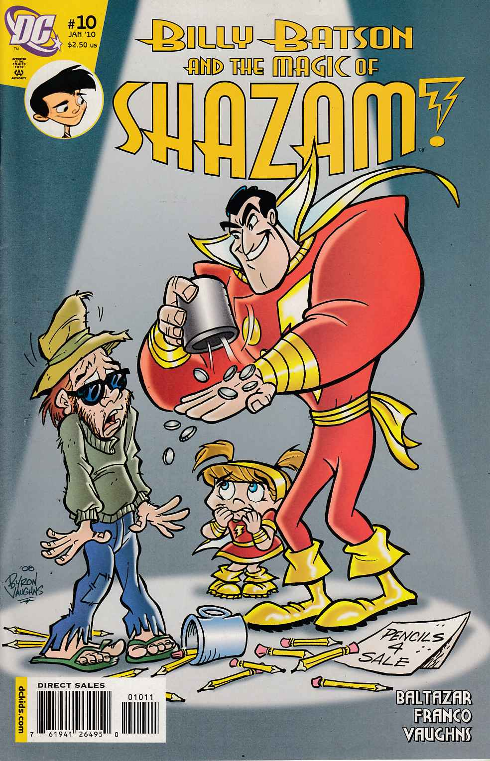 Billy Batson and the Magic of Shazam #10 Very Fine (8.0) [DC Comic]_THUMBNAIL