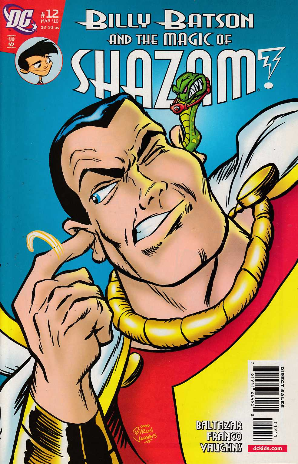 Billy Batson and the Magic of Shazam #12 Near Mint (9.4) [DC THUMBNAIL
