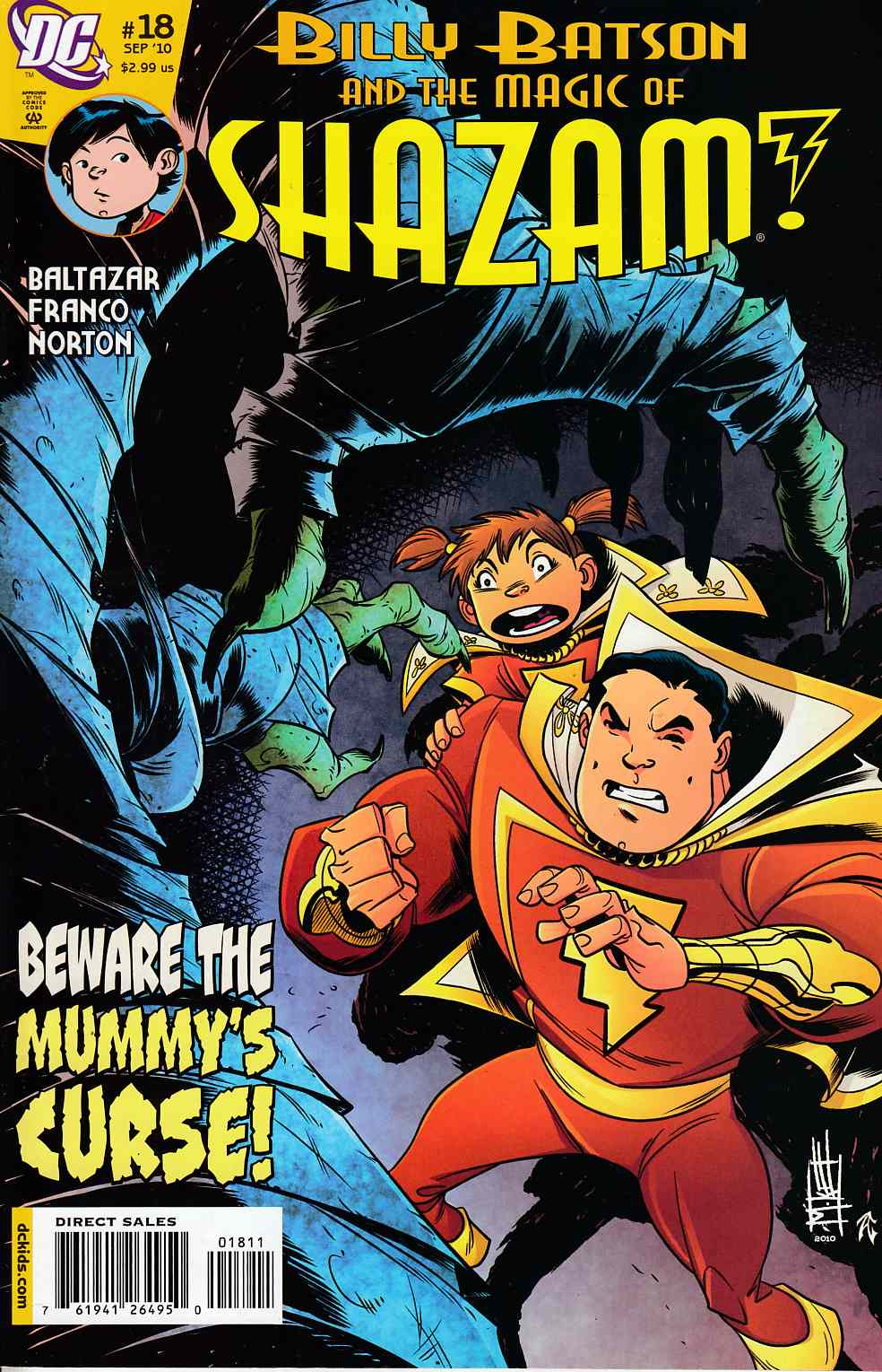 Billy Batson and the Magic of Shazam #18 Very Fine (8.0) [DC Comic]_LARGE