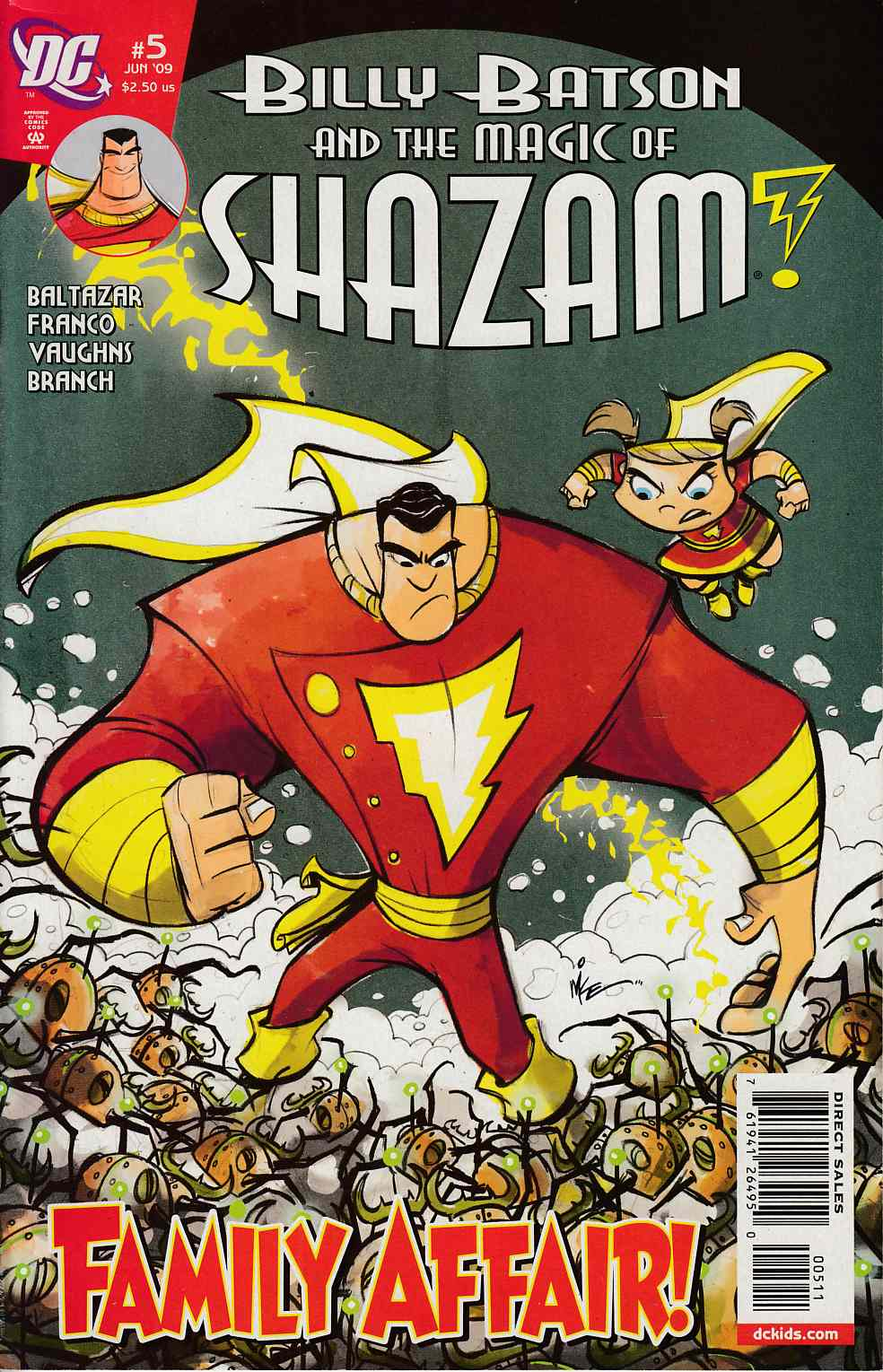 Billy Batson and the Magic of Shazam #5 Near Mint Minus (9.2) [DC Comic] THUMBNAIL