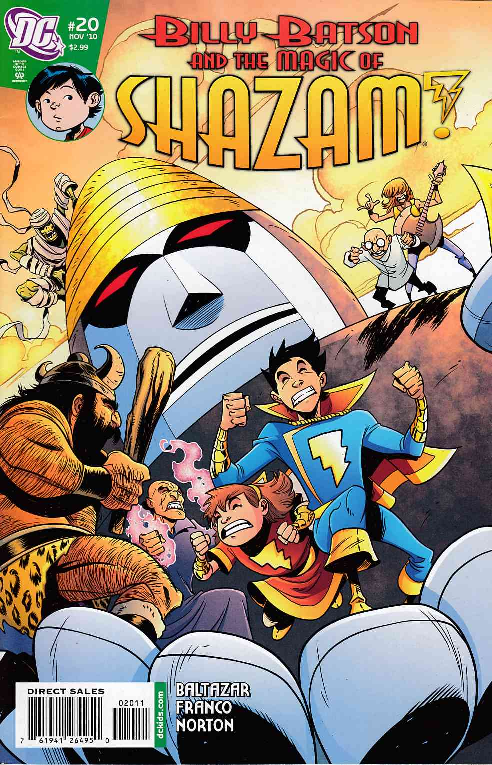 Billy Batson and the Magic of Shazam #20 Very Fine (8.0) [DC Comic]_THUMBNAIL