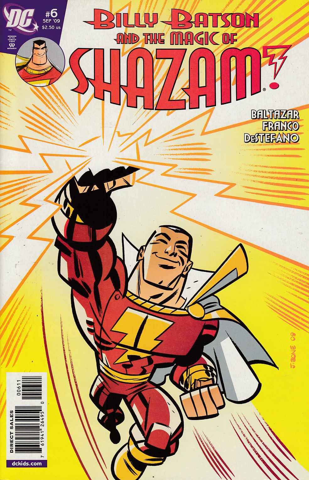 Billy Batson and the Magic of Shazam #6 Near Mint (9.4) [DC Comic]_LARGE
